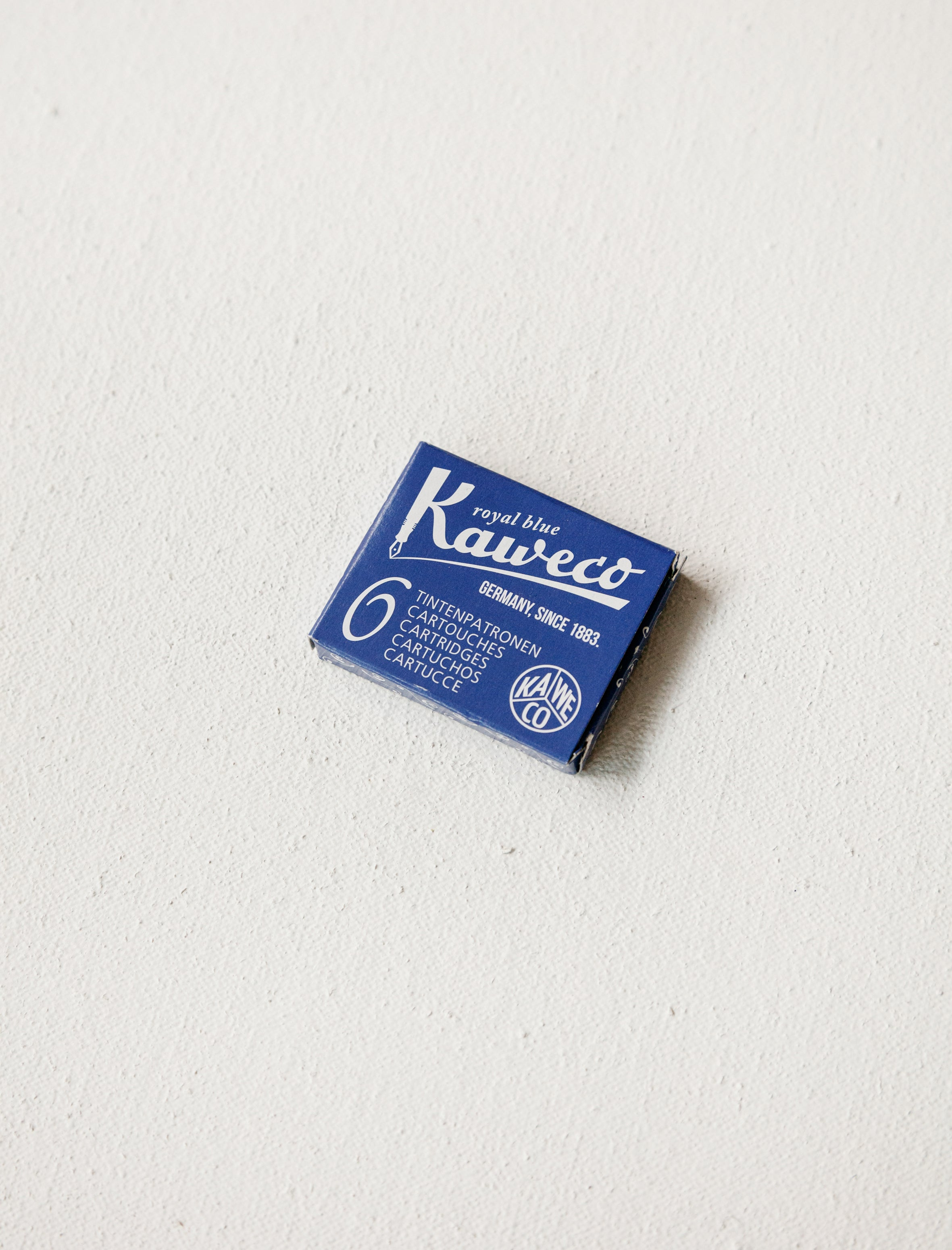 Kaweco Fountain Pen Cartridge Blue
