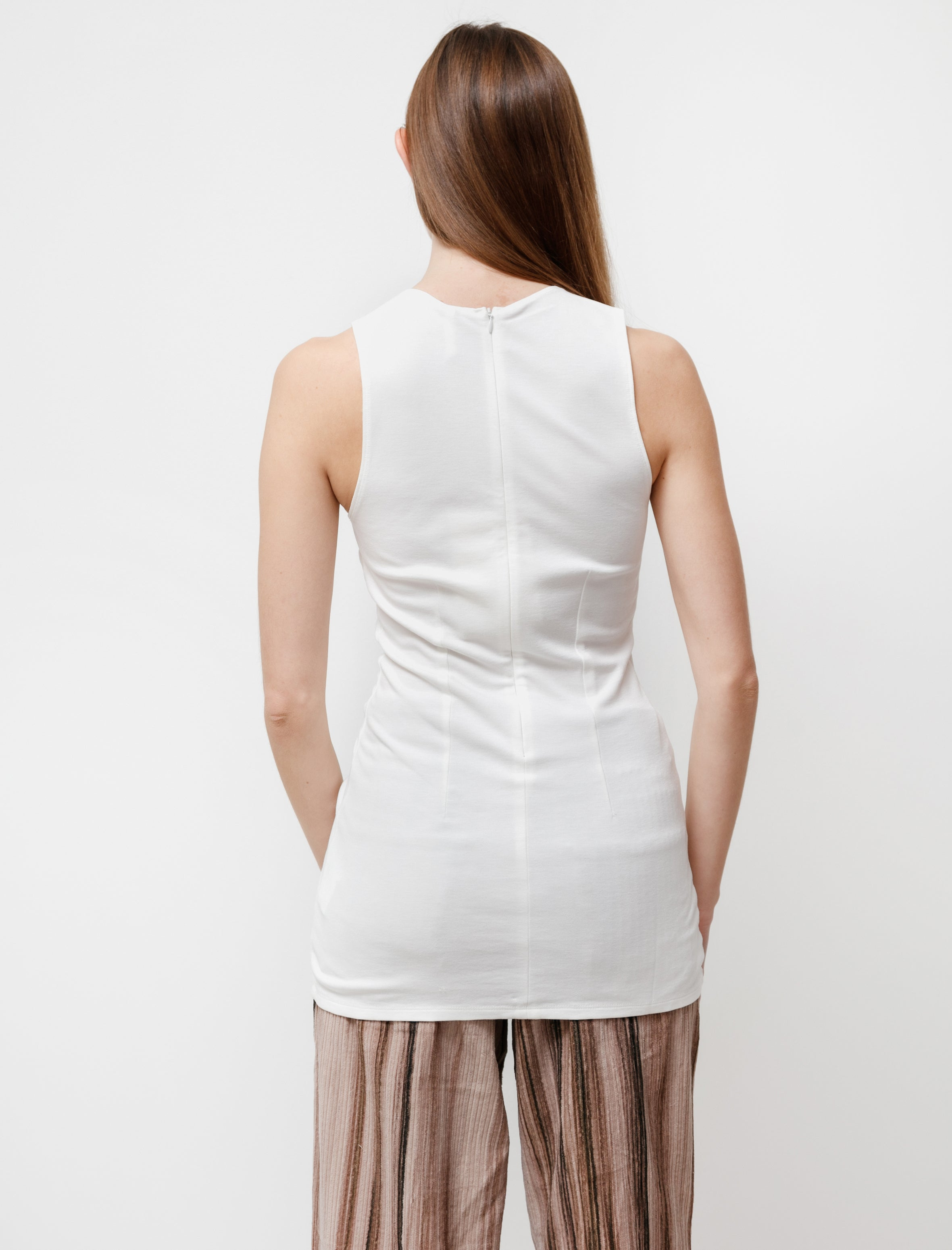 Our Legacy Racer Tank White Verve Jersey