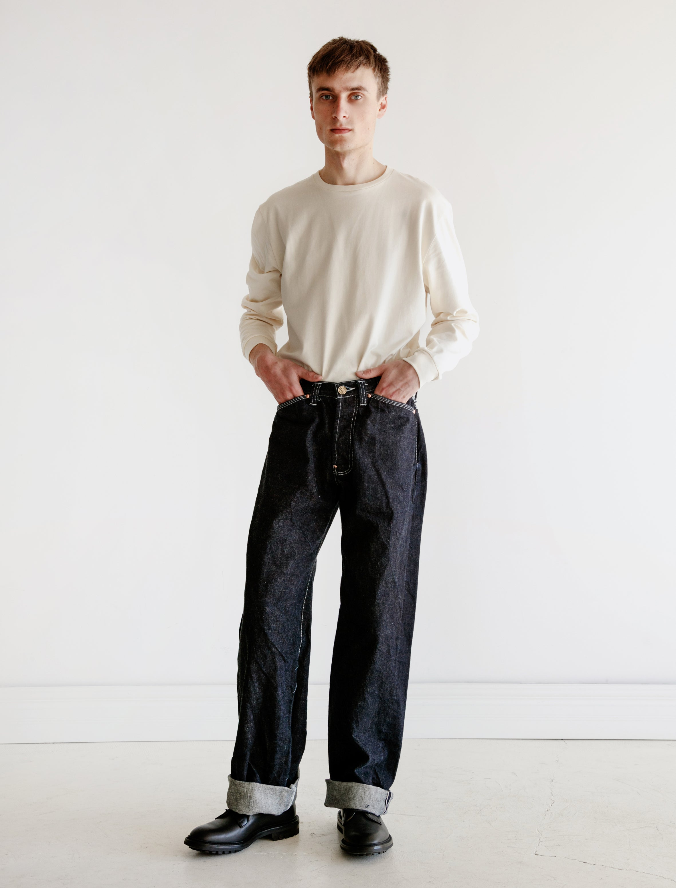 136 Oxford Jeans 16oz Selvedge Denim
