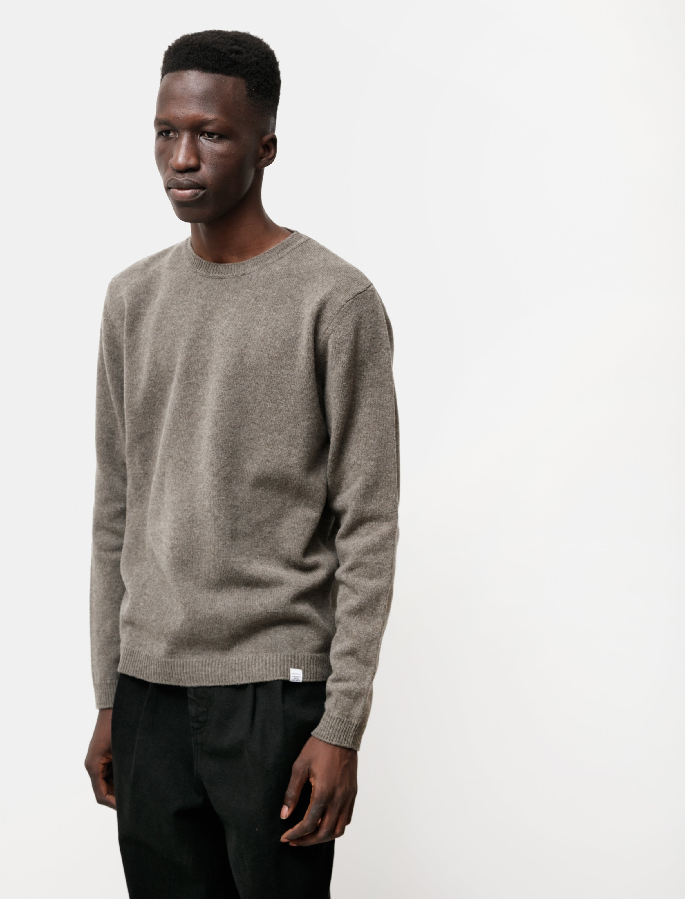 Norse Projects Sigfred Lambswool Ivy Green