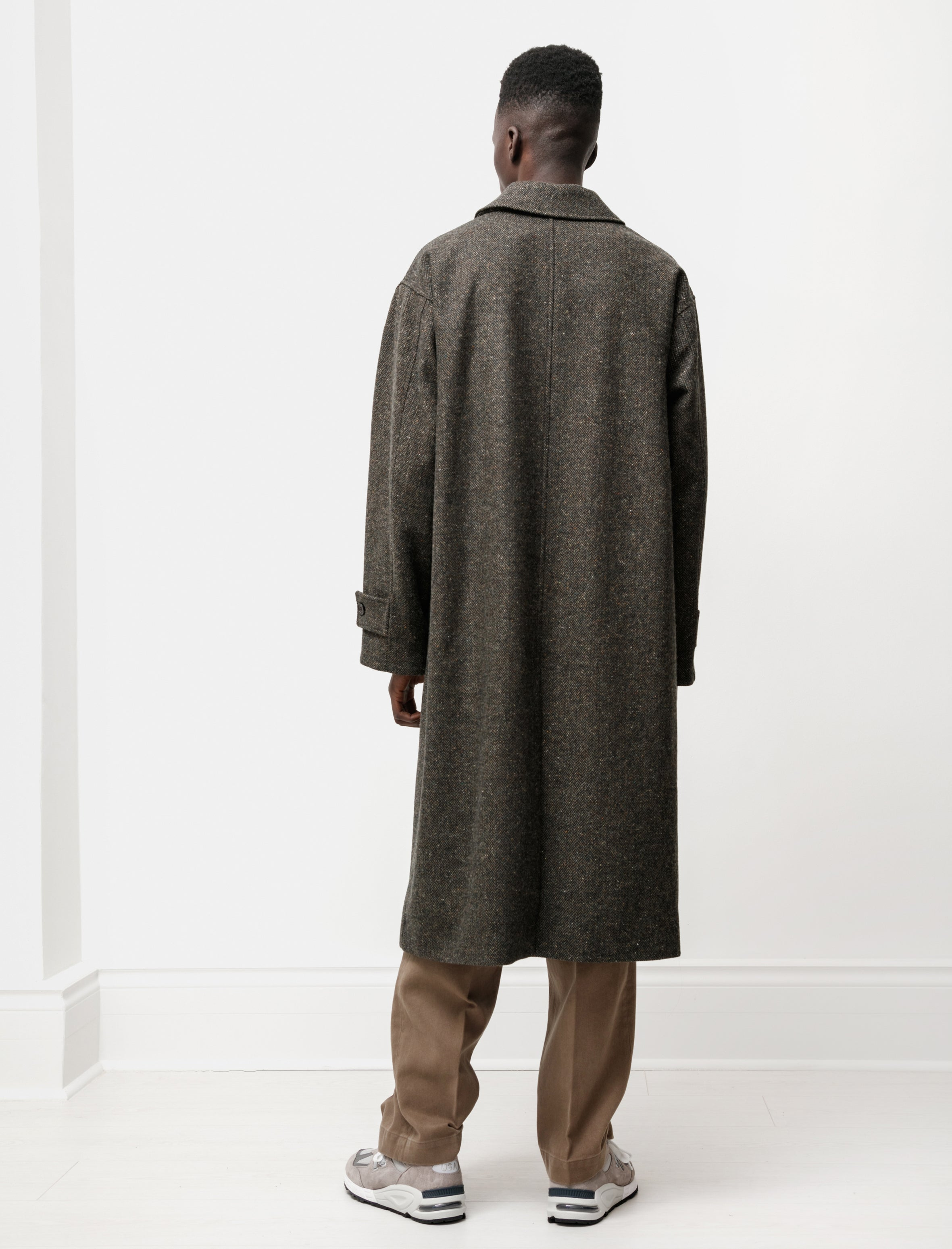 mfpen Hollis Coat Forest Tweed