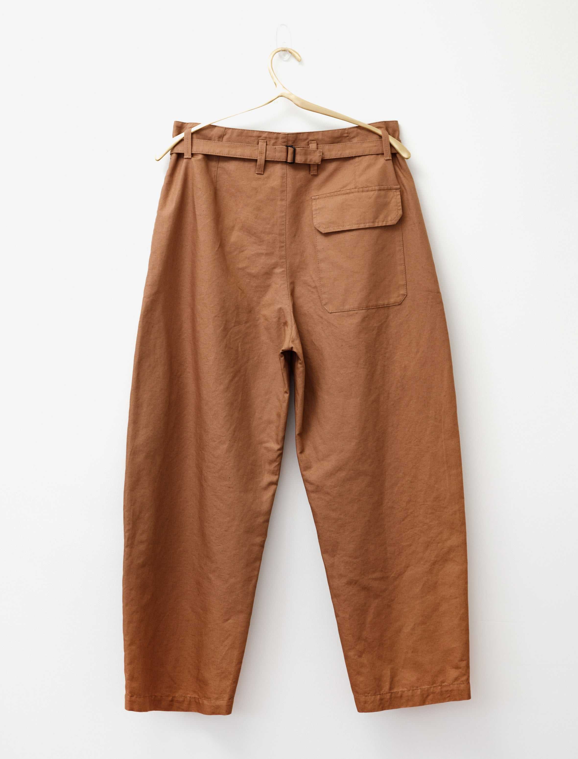 Lemaire Military Pants Pale Brown