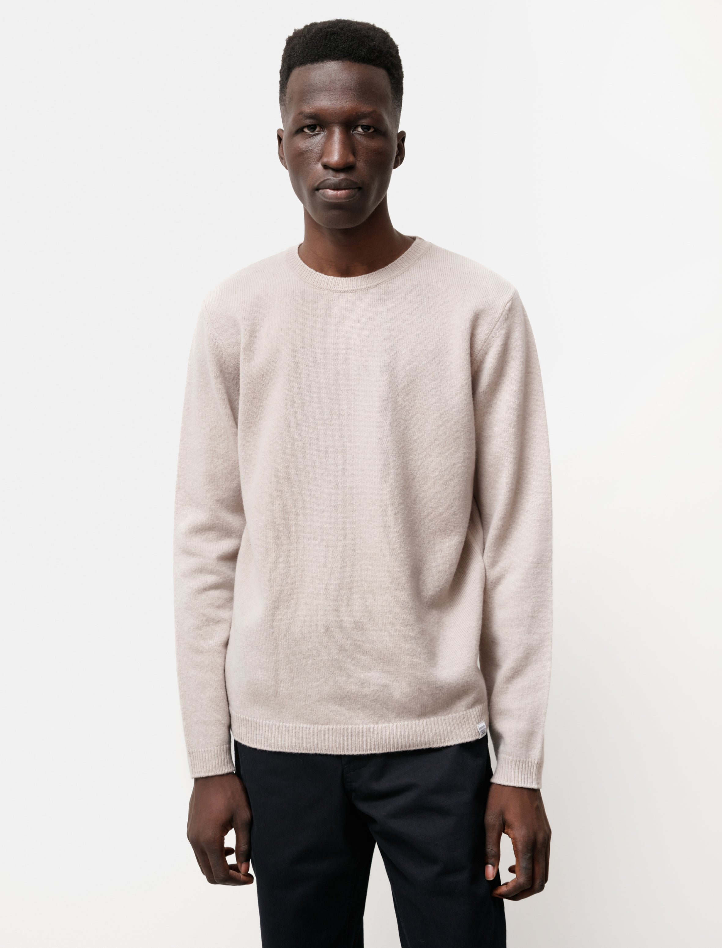 Norse Projects Sigfred Lambswool Utility Khaki