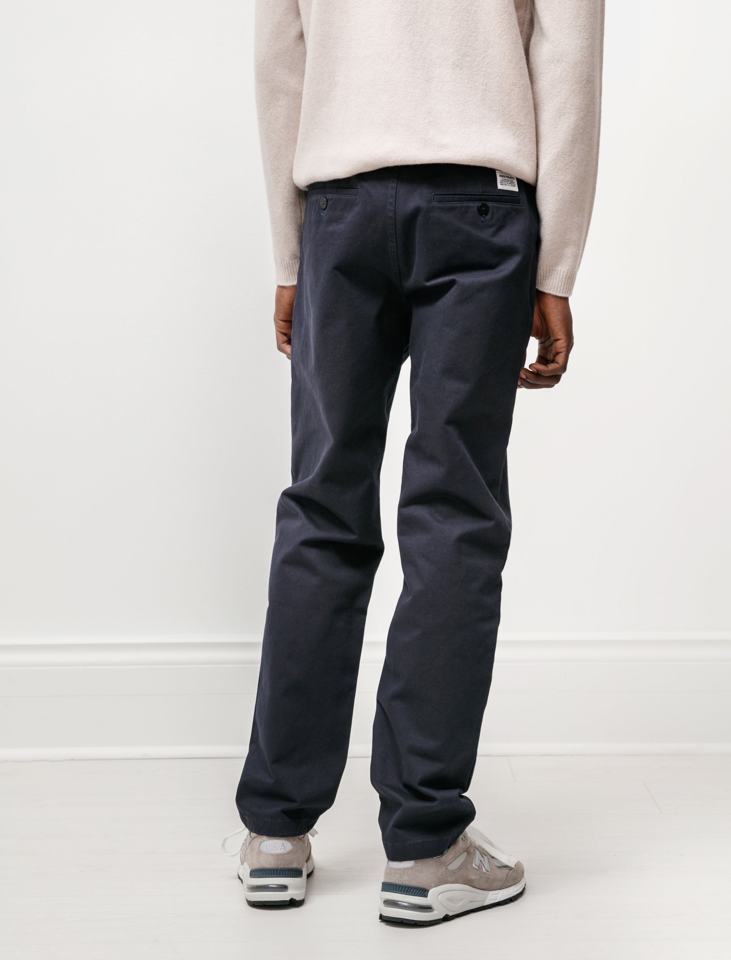 Norse Projects Aros Heavy Chino Dark Navy