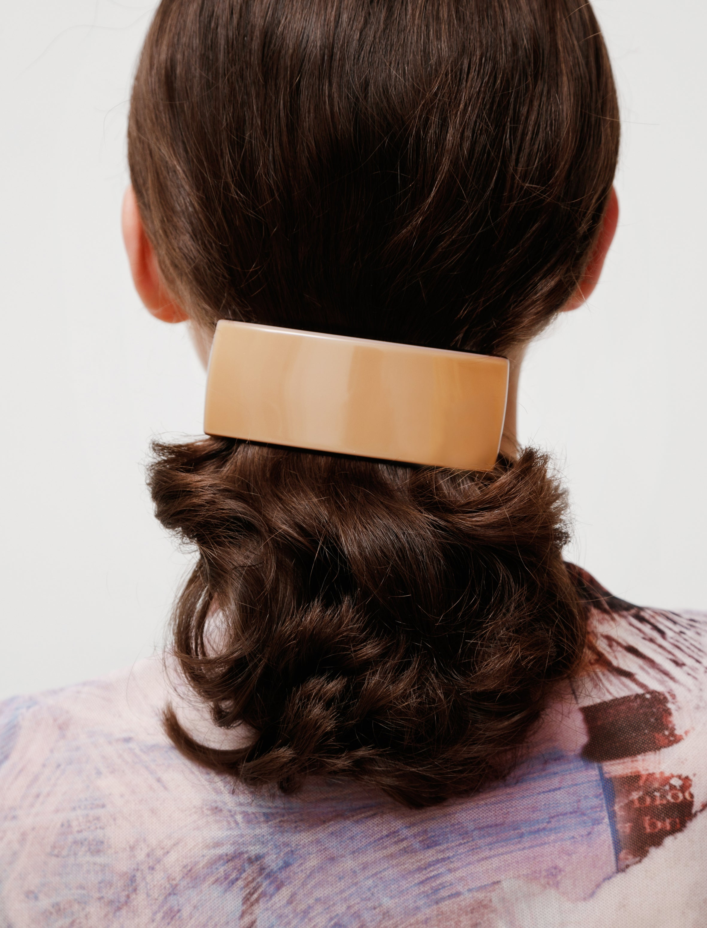 Deliska Large Rectangular Barrette