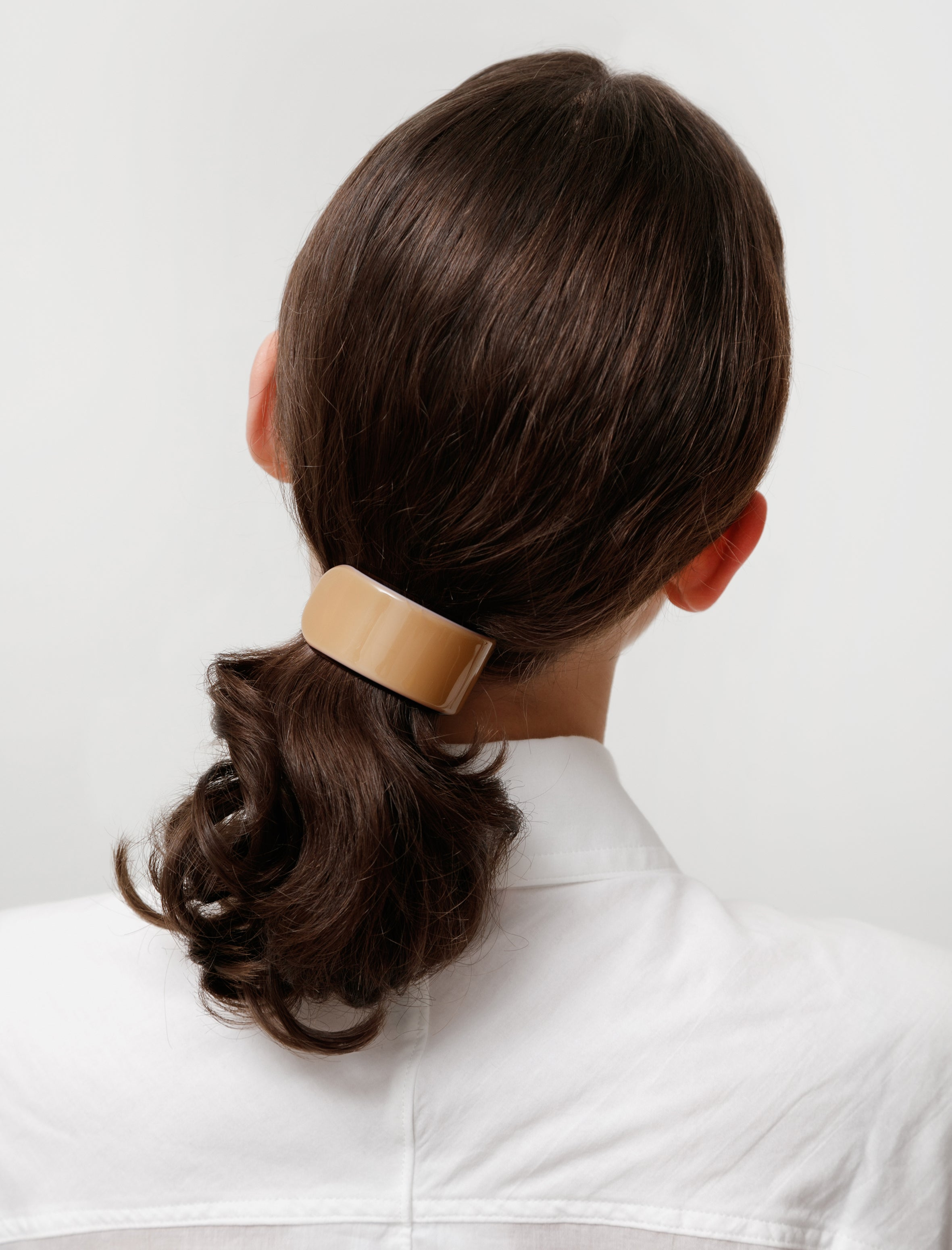 Deliska Rounded Ponytail Barrette