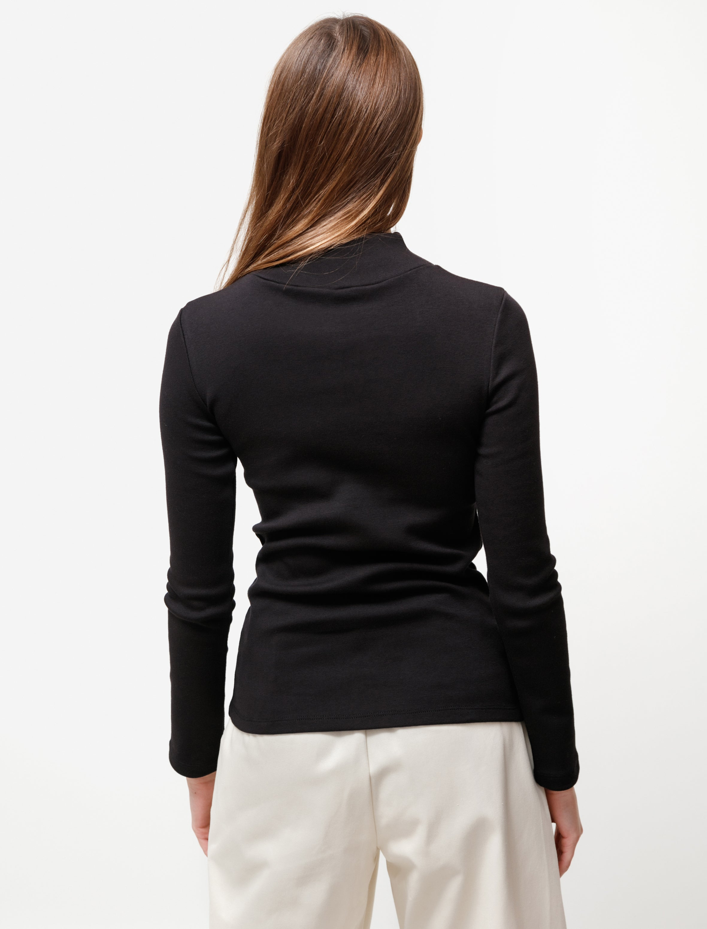 Priory Plex Mockneck Black
