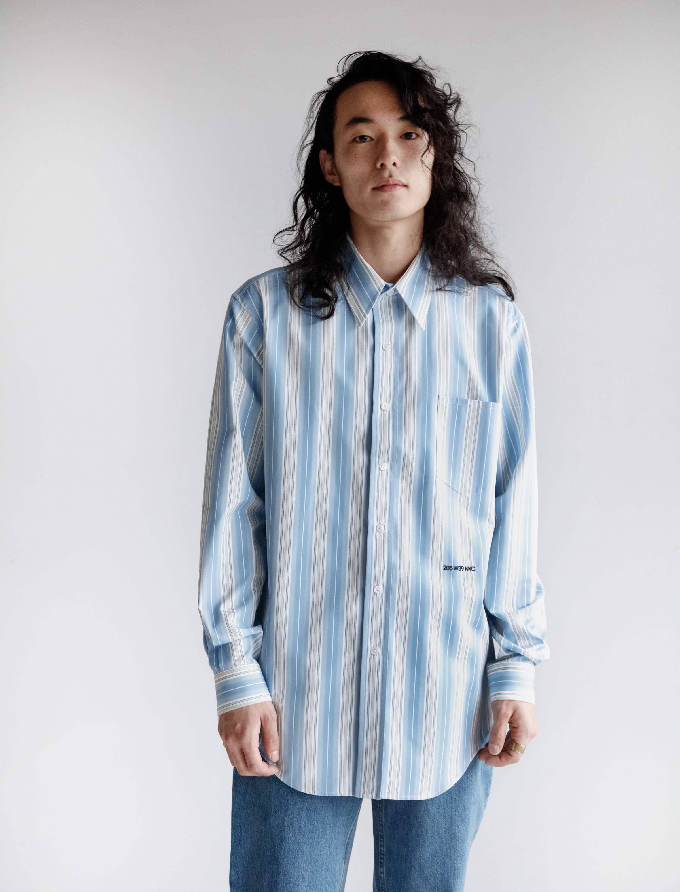 Multicolour Uniform Stripe Shirt