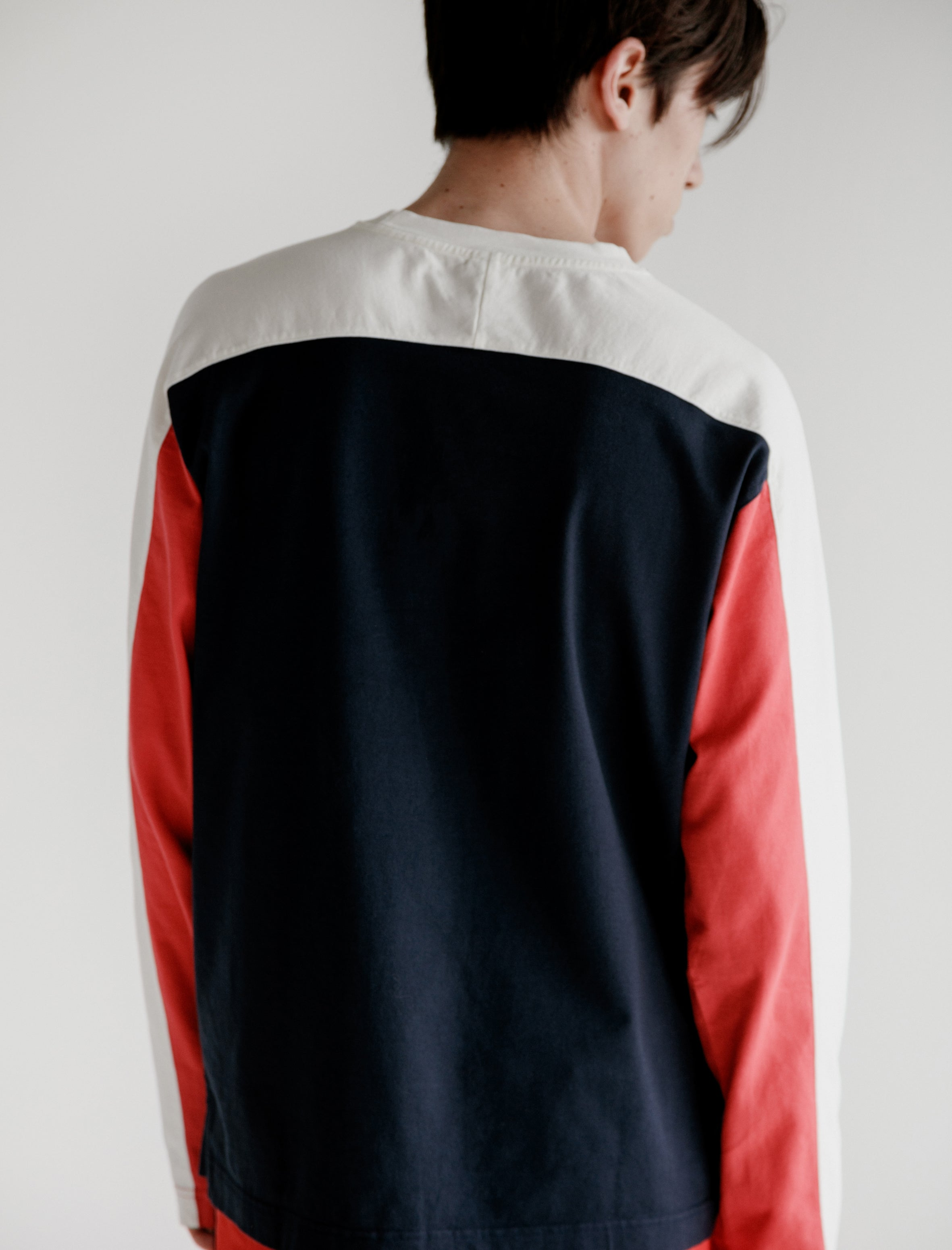 L/S Jump Tee Red White Blue