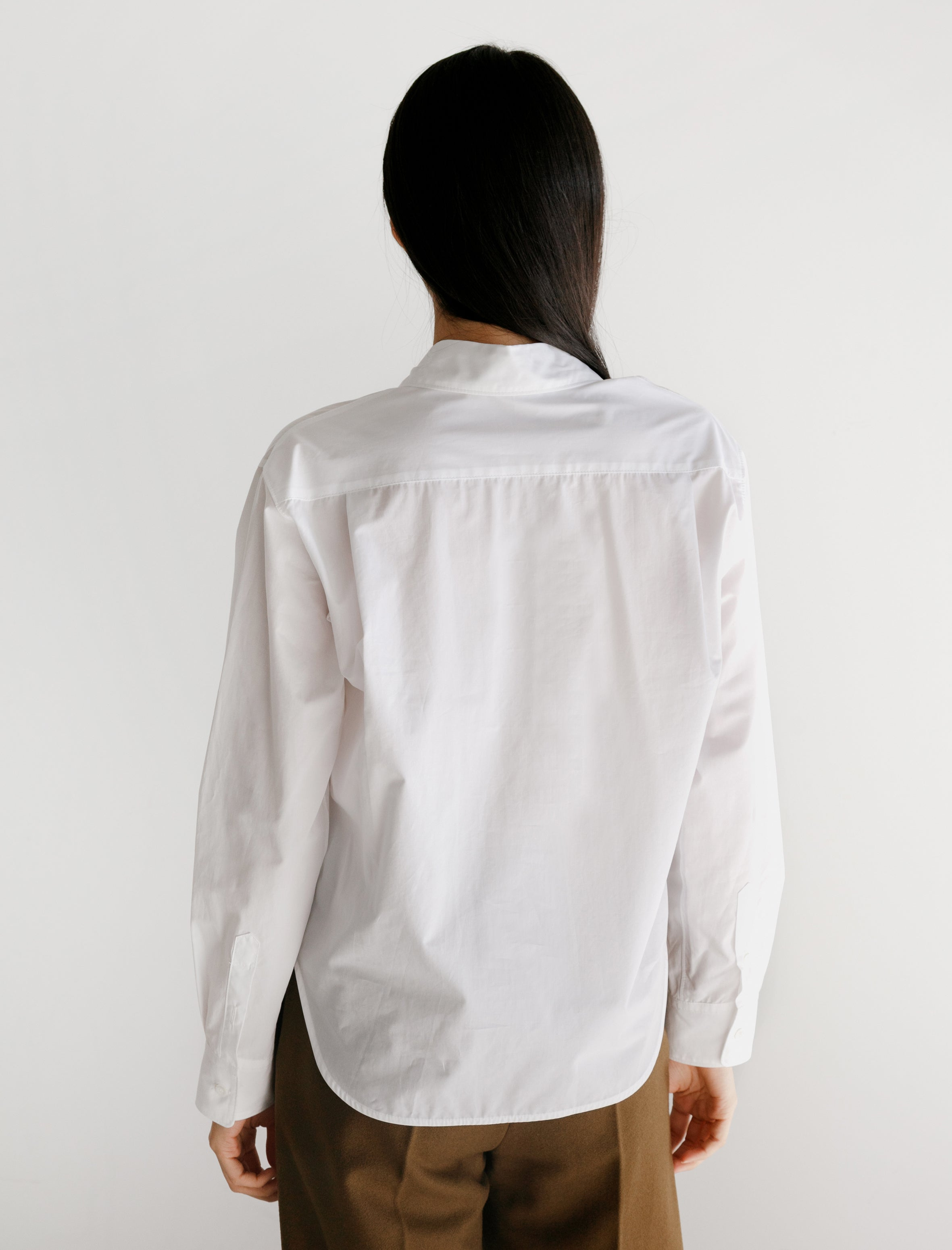 Hache Small Shirt Poplin White