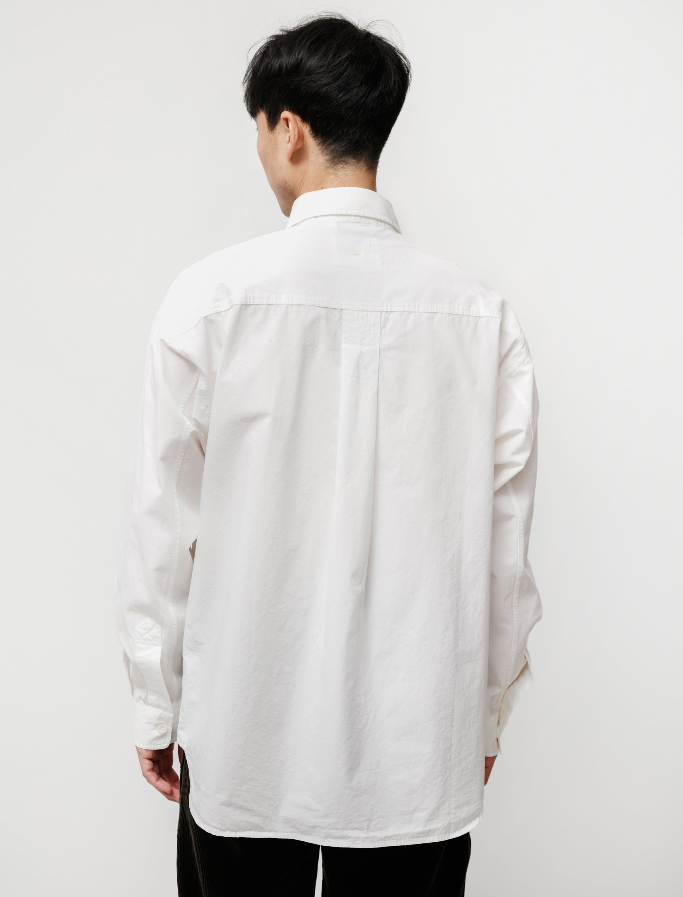 Margaret Howell MHL Oversized Work Shirt Off-White