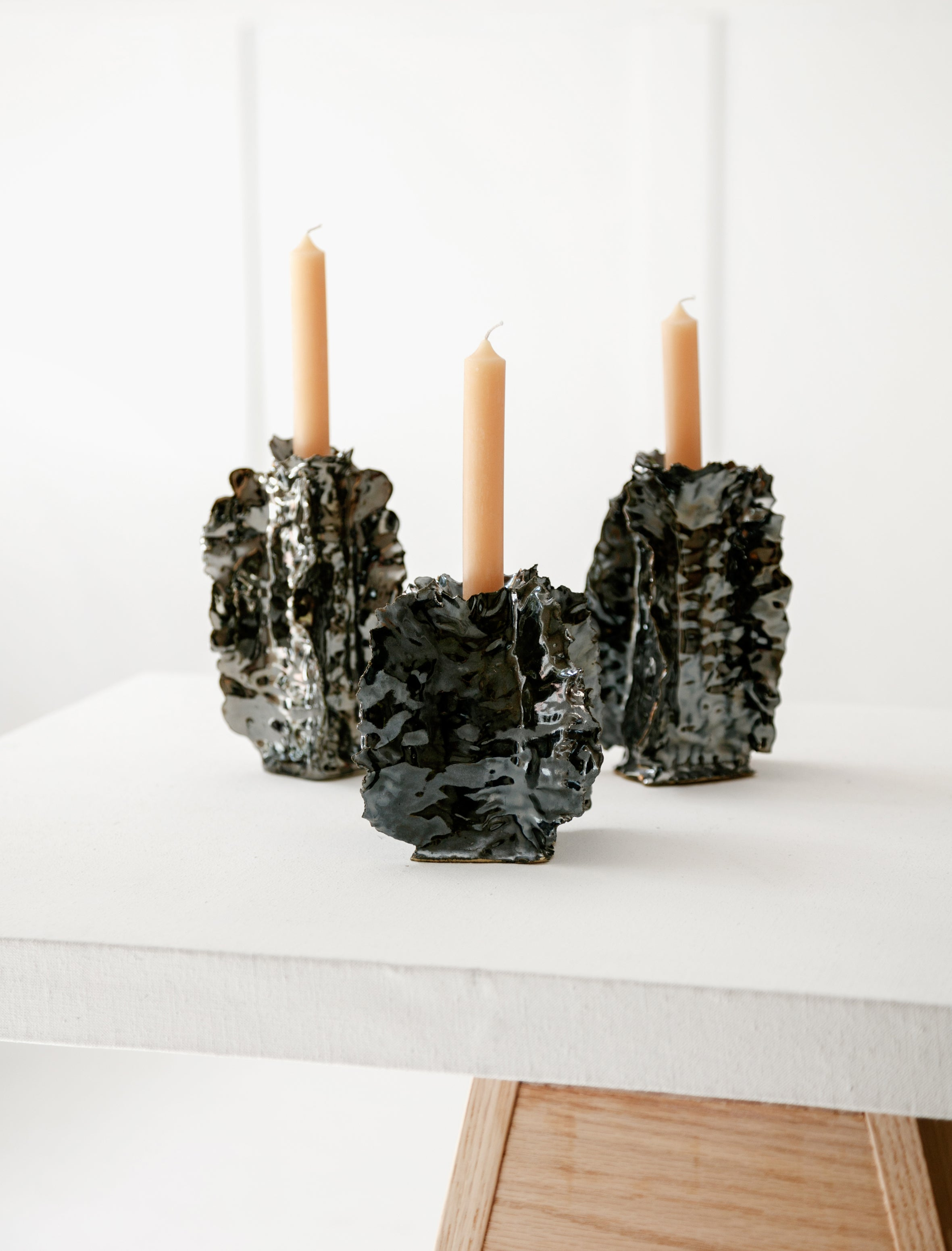 Nathalee Paolinelli Sigarilyas Mirror Candlestick