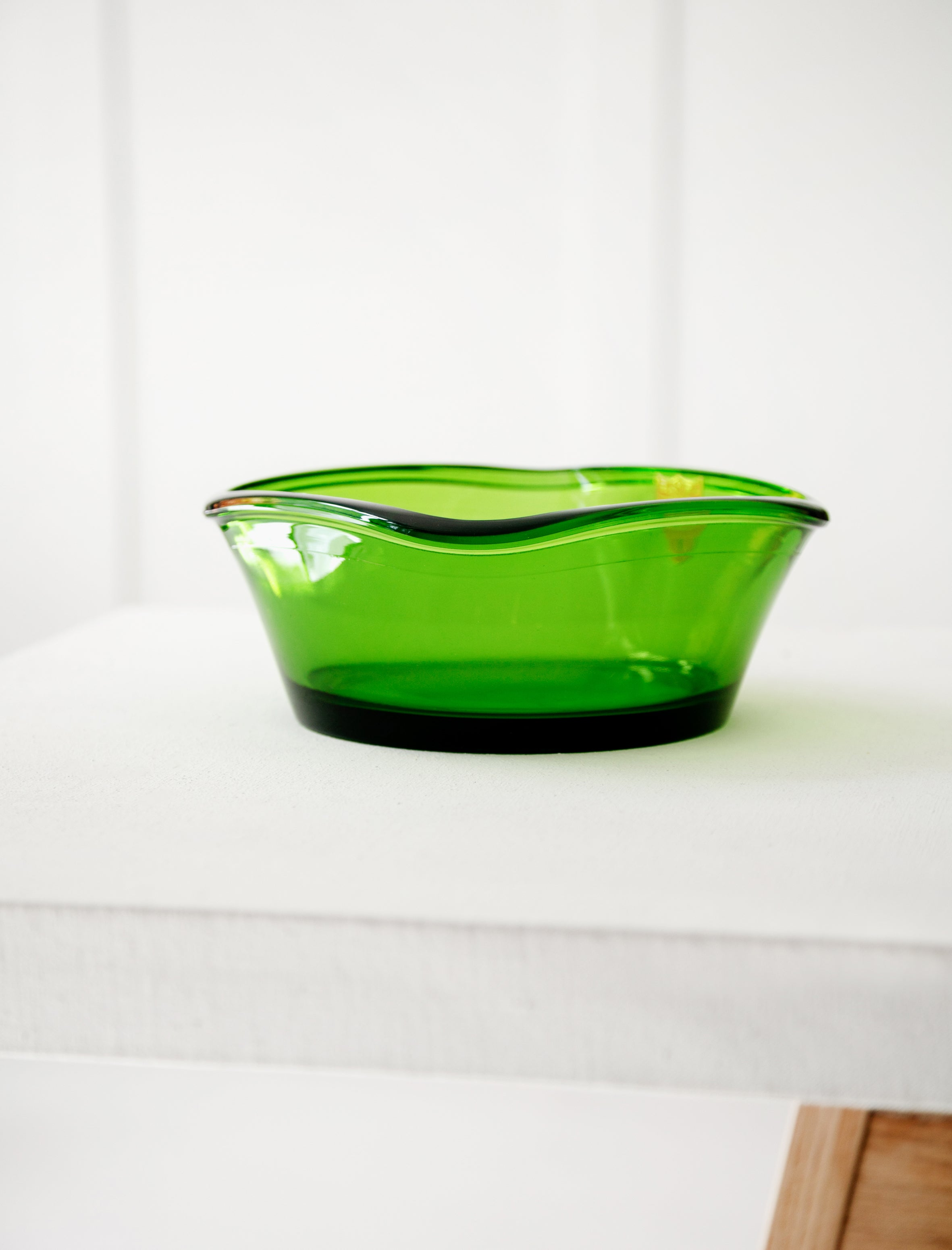 Bayel French Green Glass Bowl