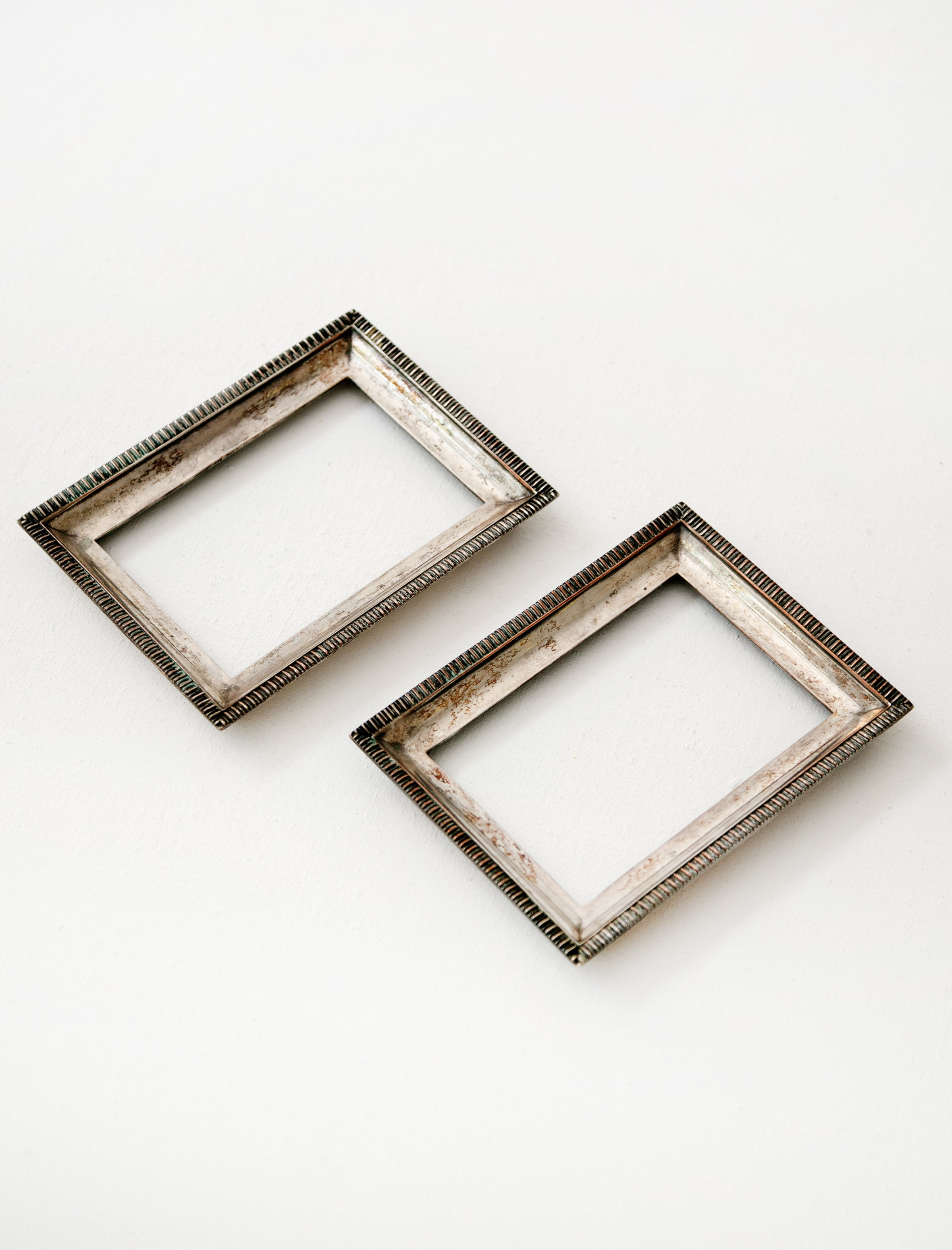 Found by Neighbour Solid Silver Frames