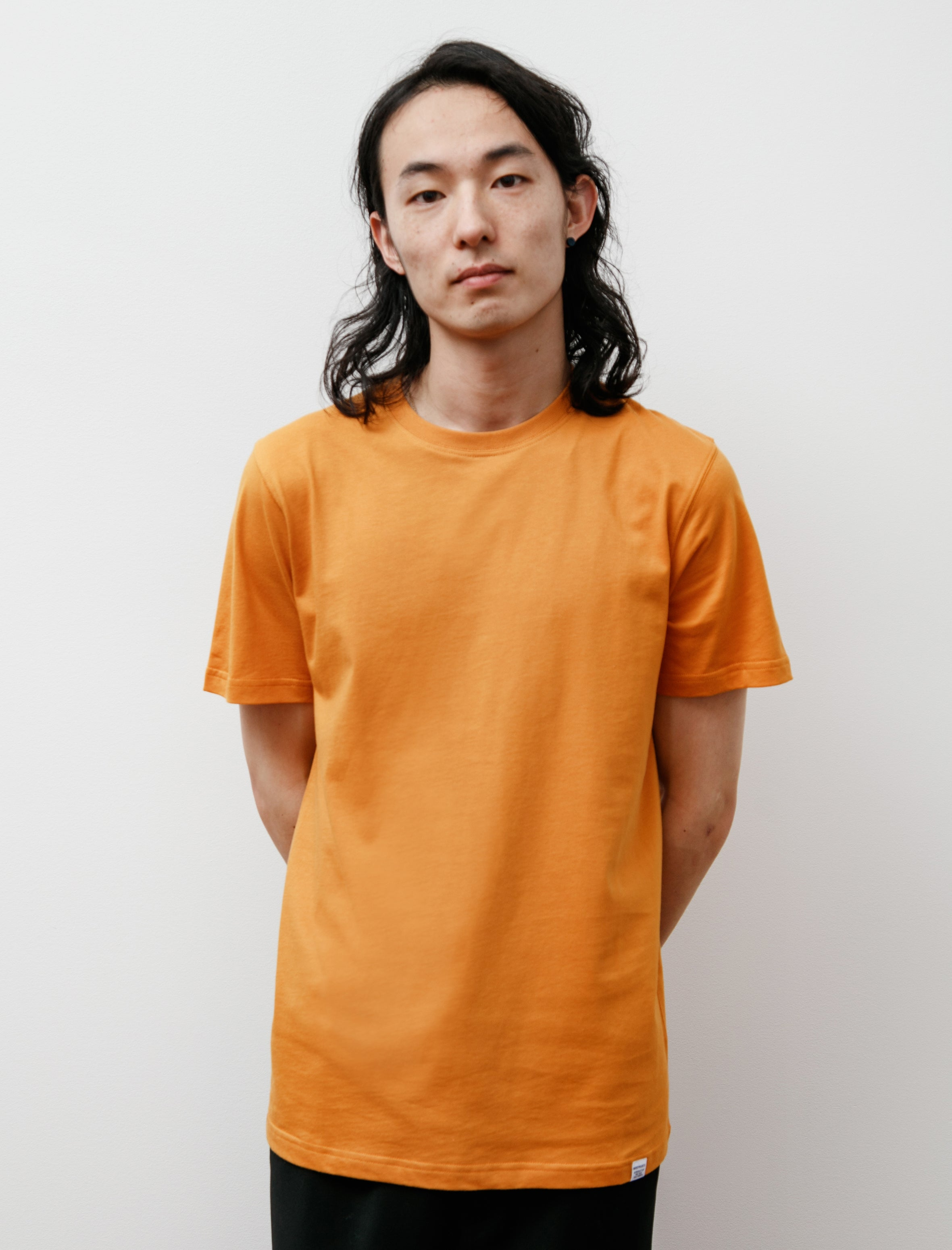 Norse Projects Niels Standard SS Cadmium Orange