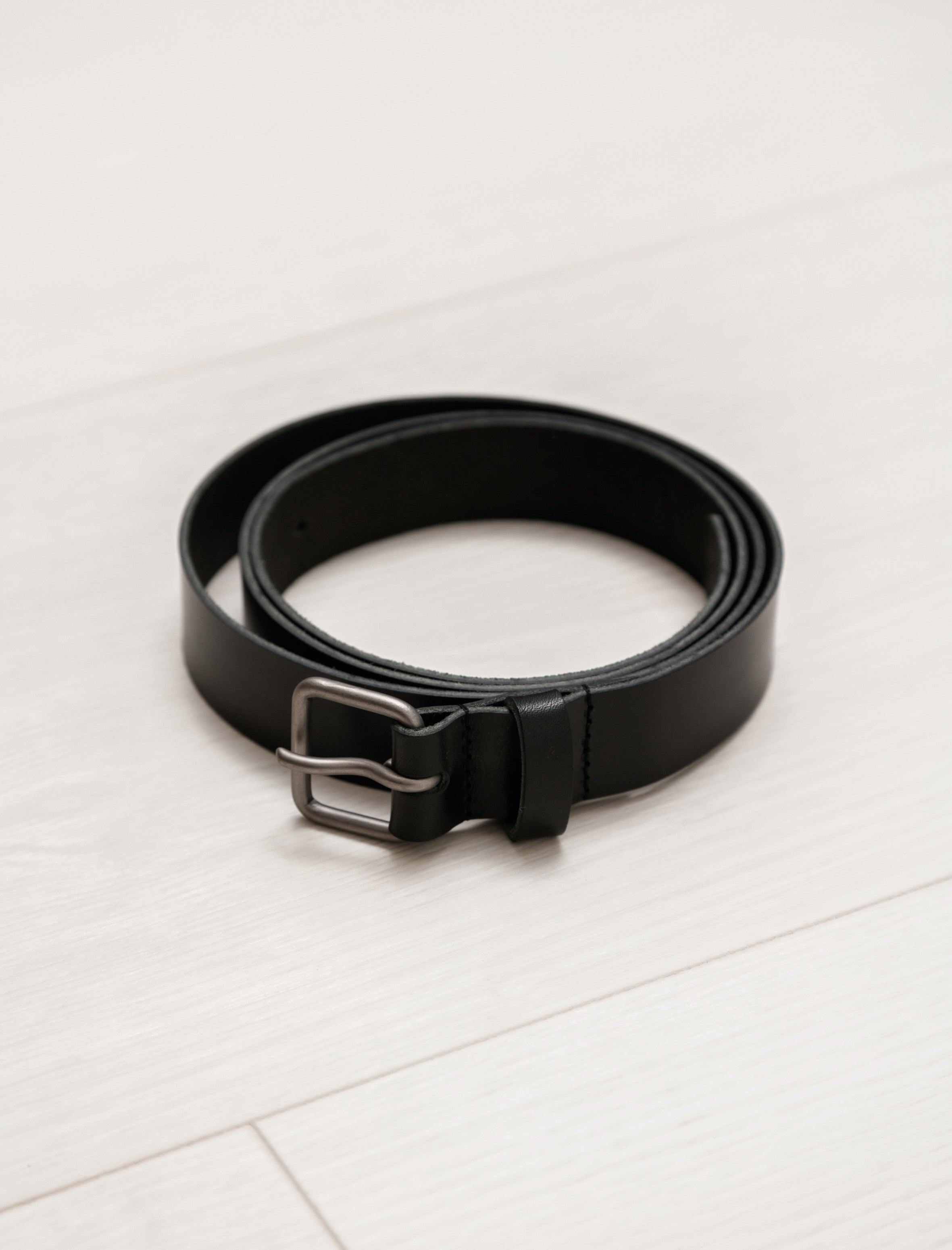 Isaac Reina Simple Belt Black