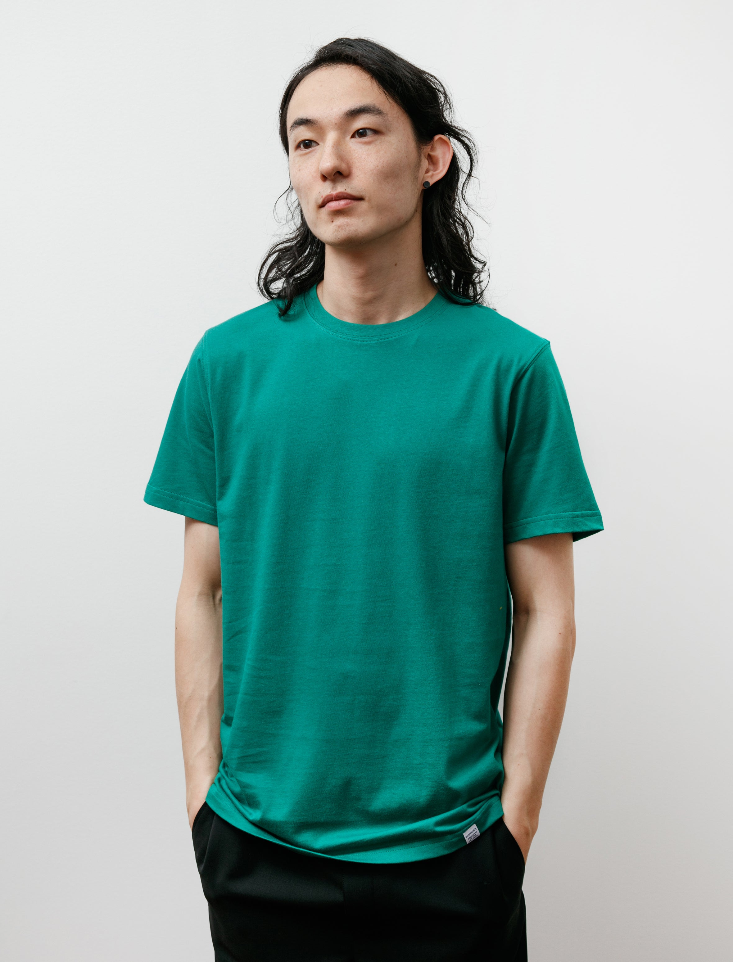 Norse Projects Niels Standard SS Sporting Green