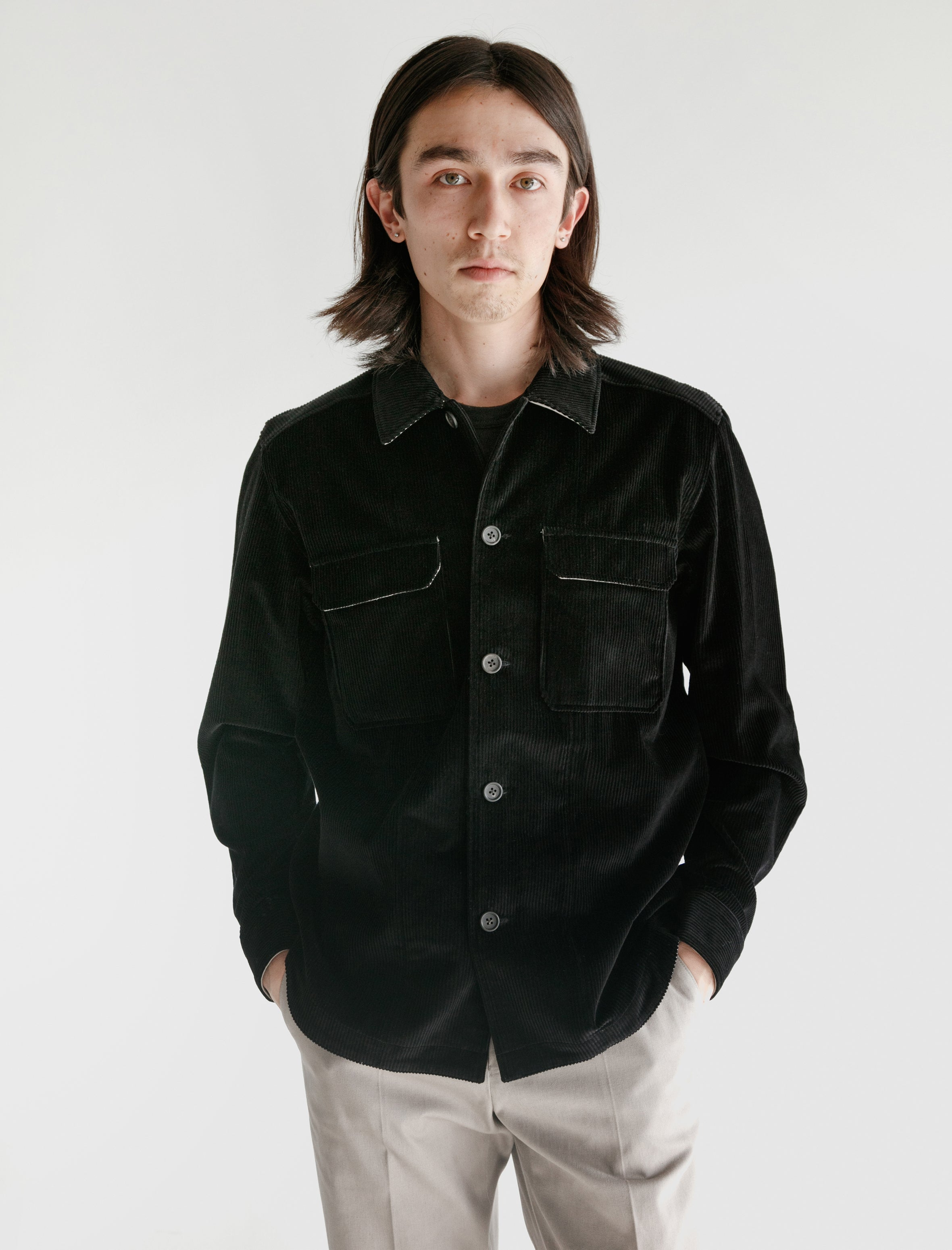 Childs Timberline Overshirt Black