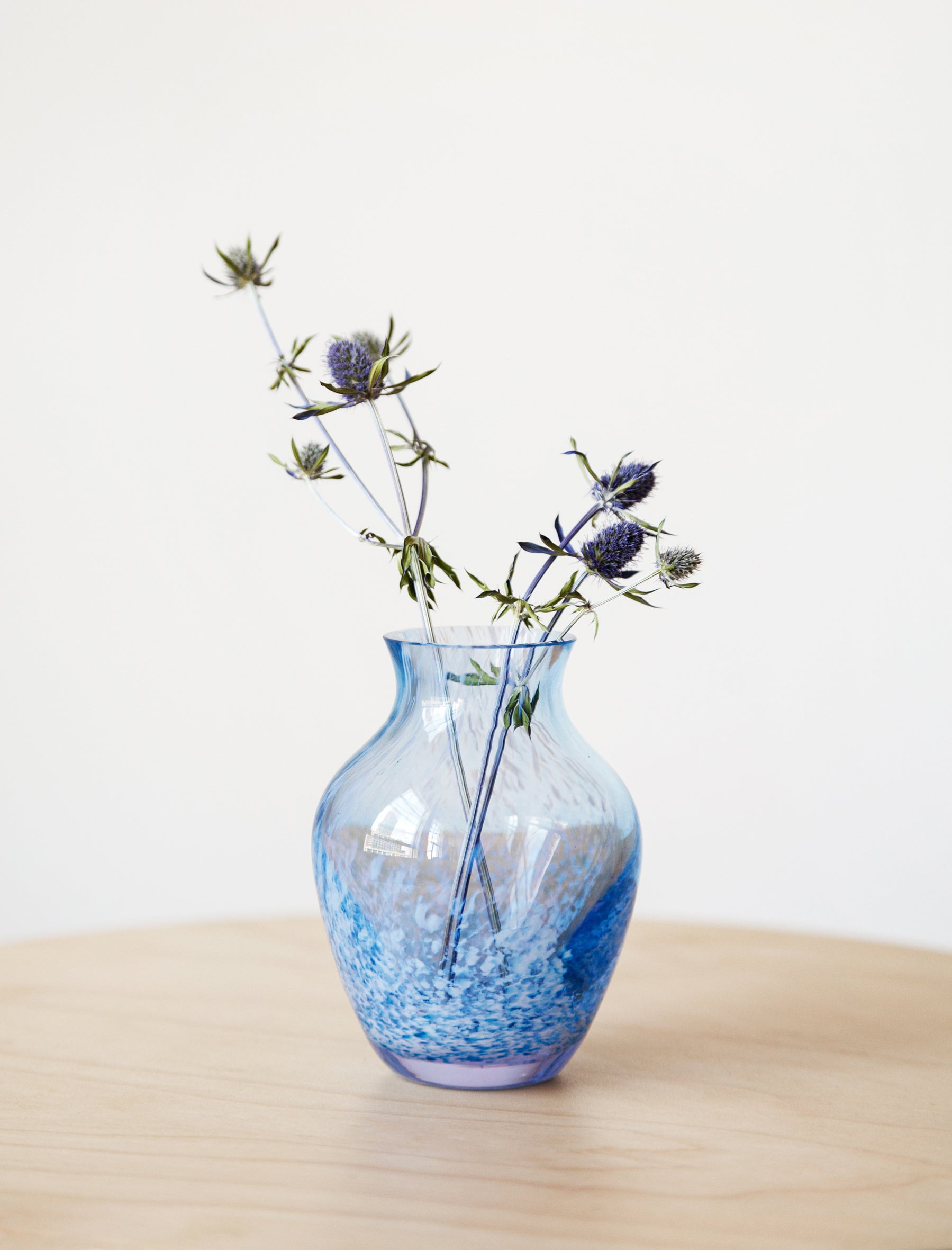 Found by Neighbour Speckled Lavender Bud Vase