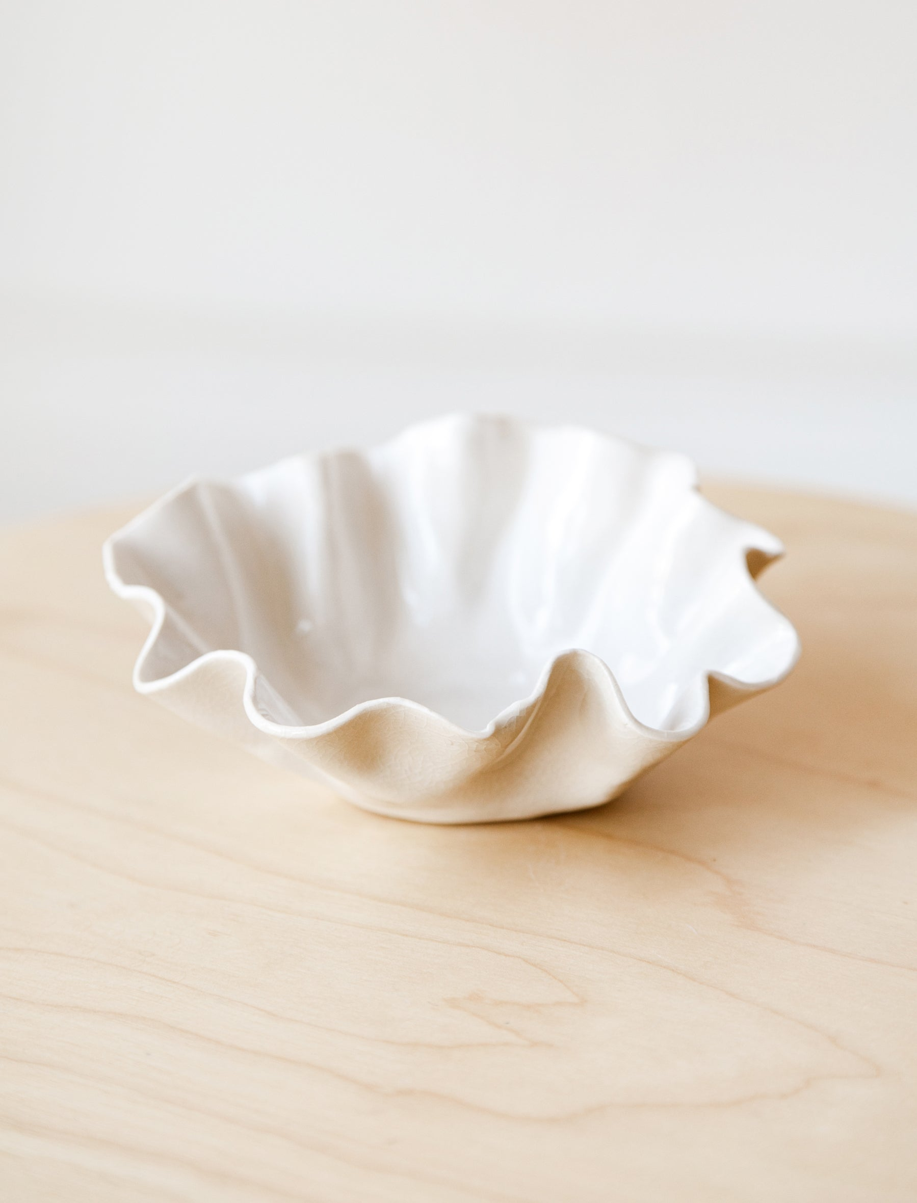 Nathalee Paolinelli Shallow Bowl White