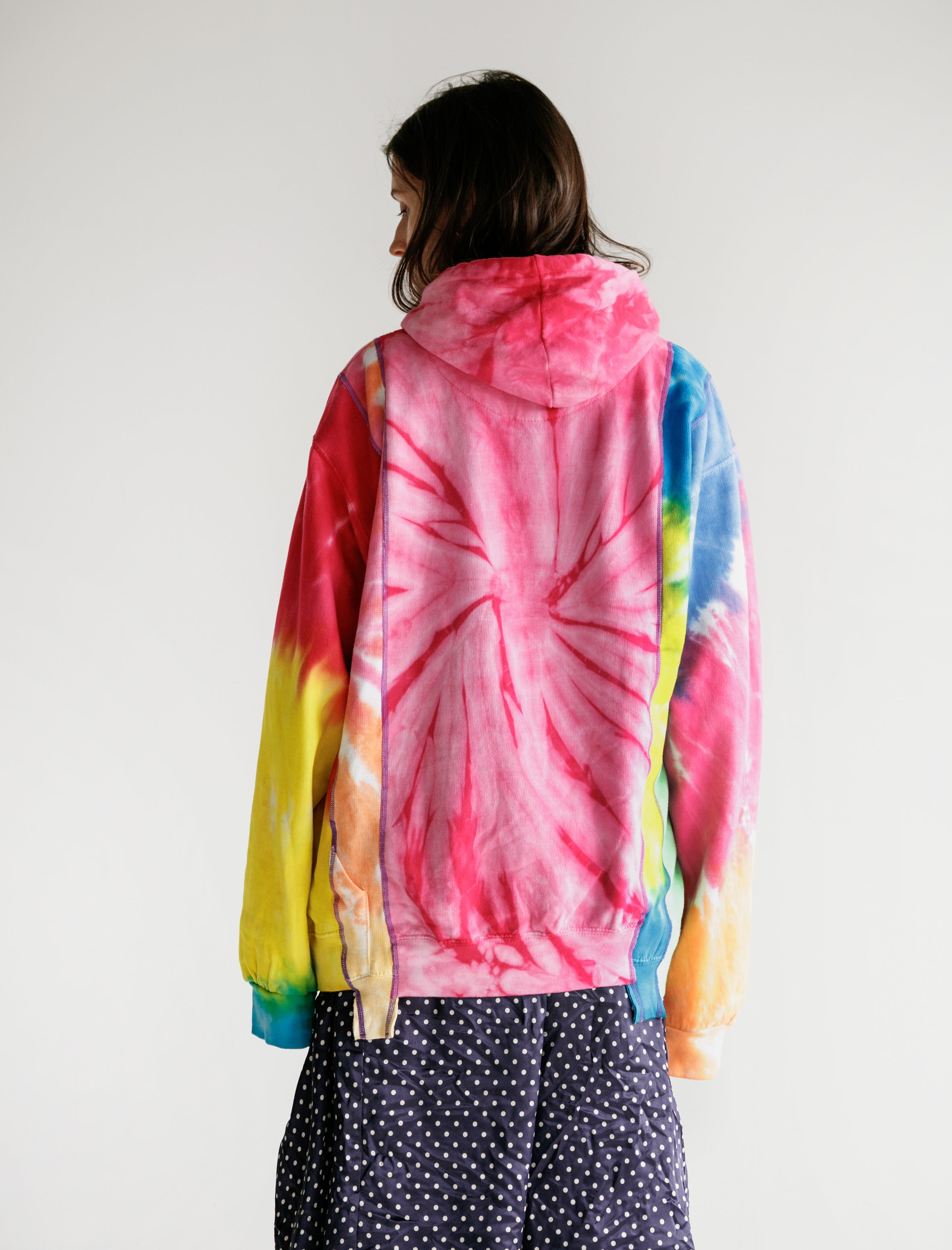 Needles Rebuild by Needles 5 Cuts Hoody Tie Dye
