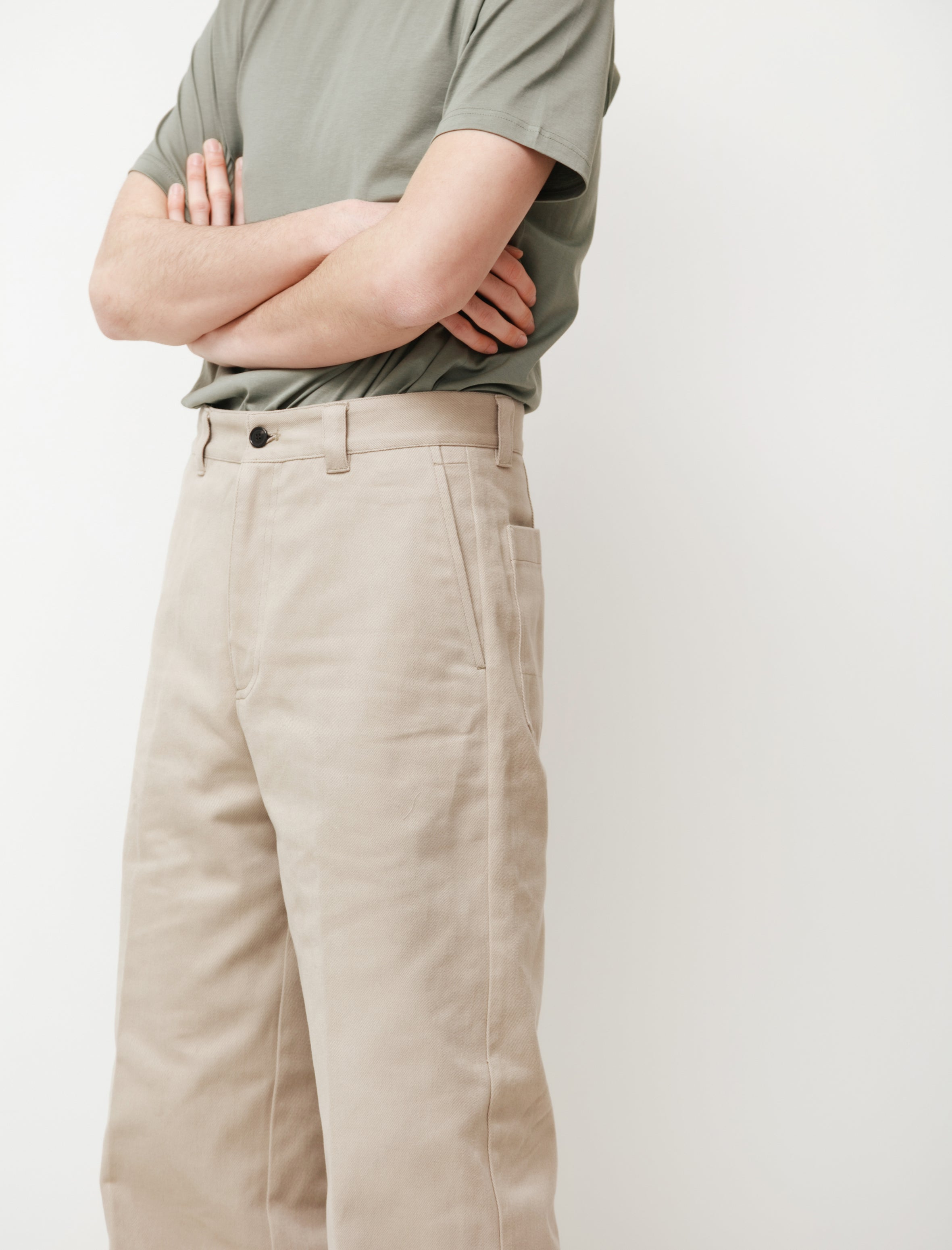 acne studios Workwear Trousers Hazel Beige