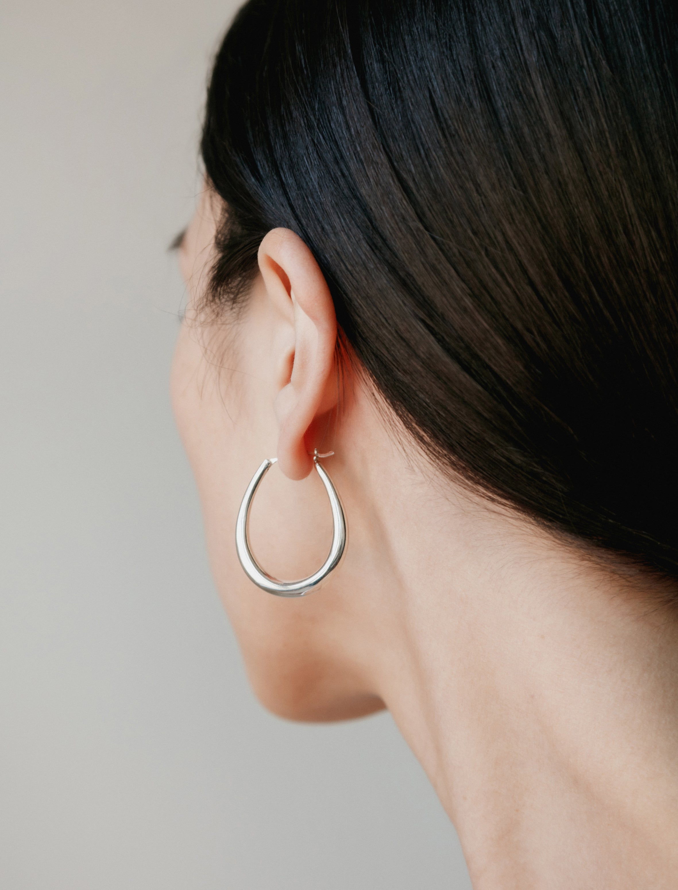 Sophie Buhai Small Egg Hoop Earrings