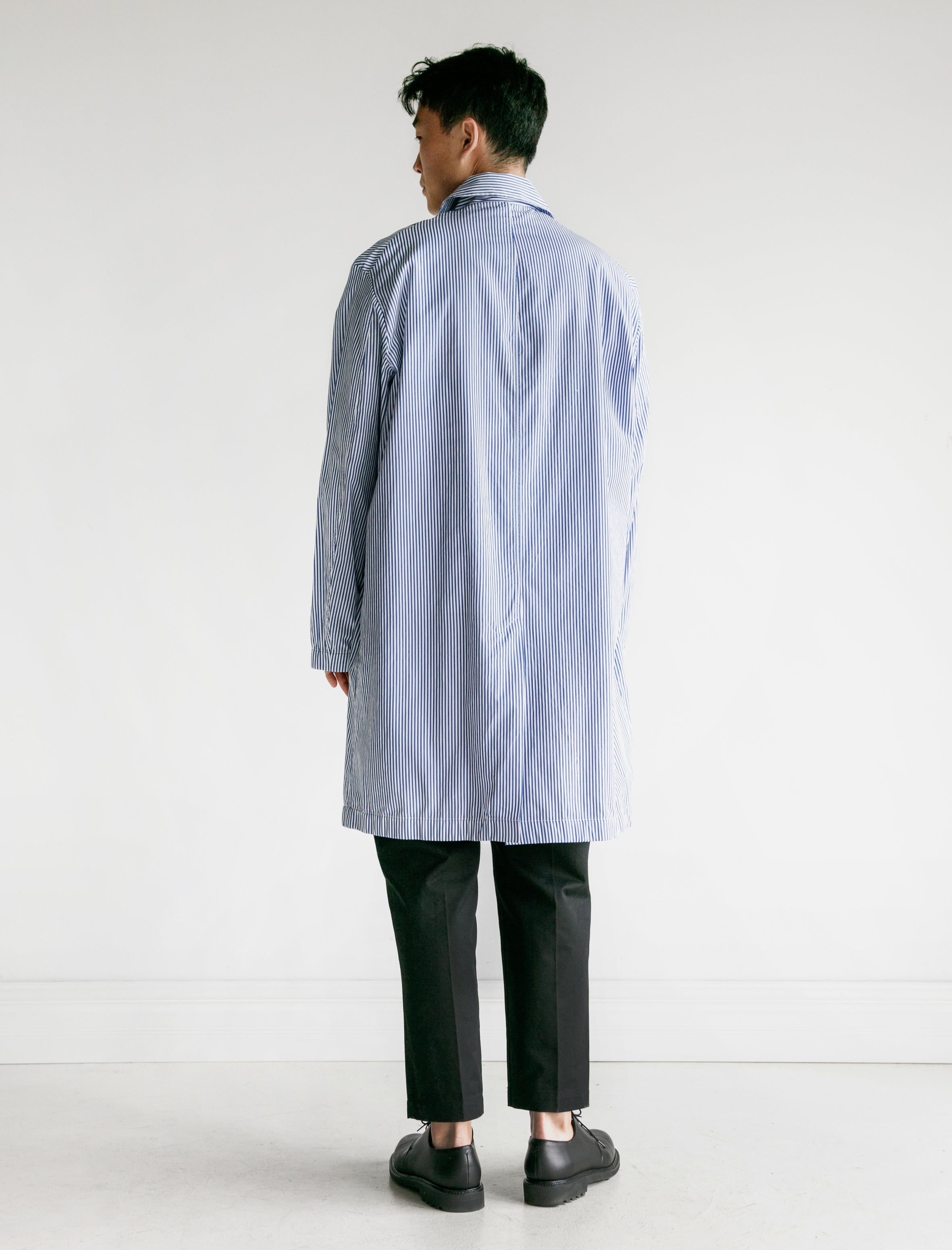 Our Legacy Mac Coat Blue Stripe