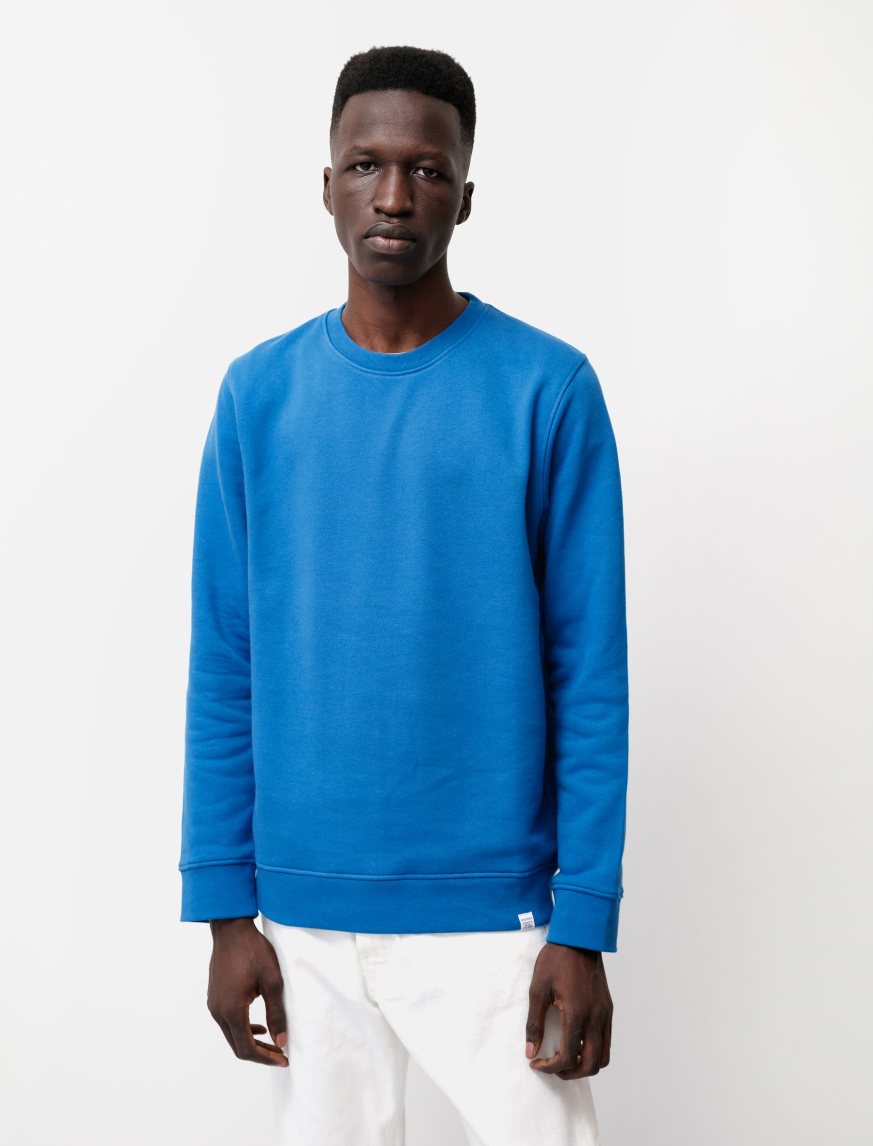 Norse Projects Vagn Classic Crew Blue