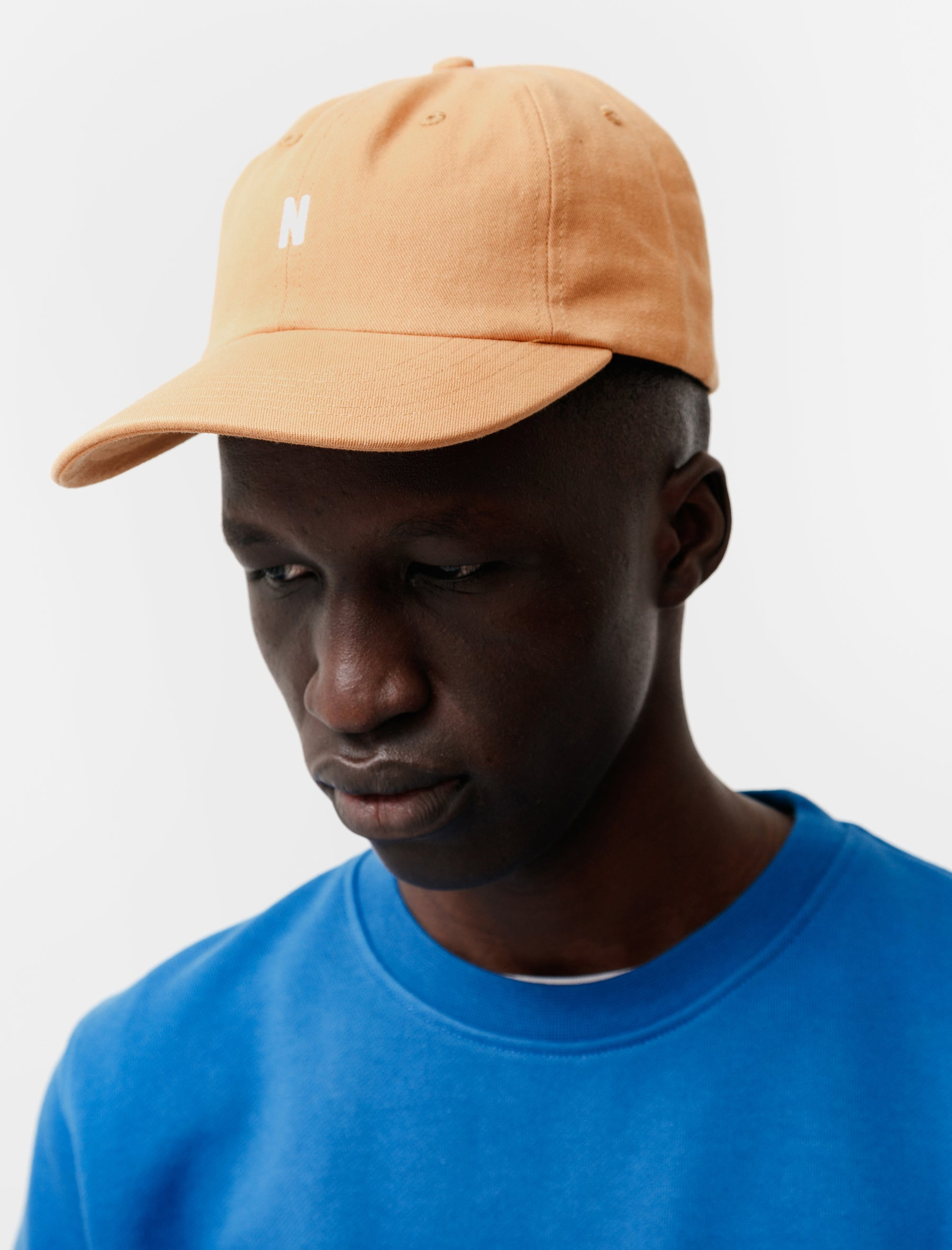 Norse Projects Twill Sports Cap Orange