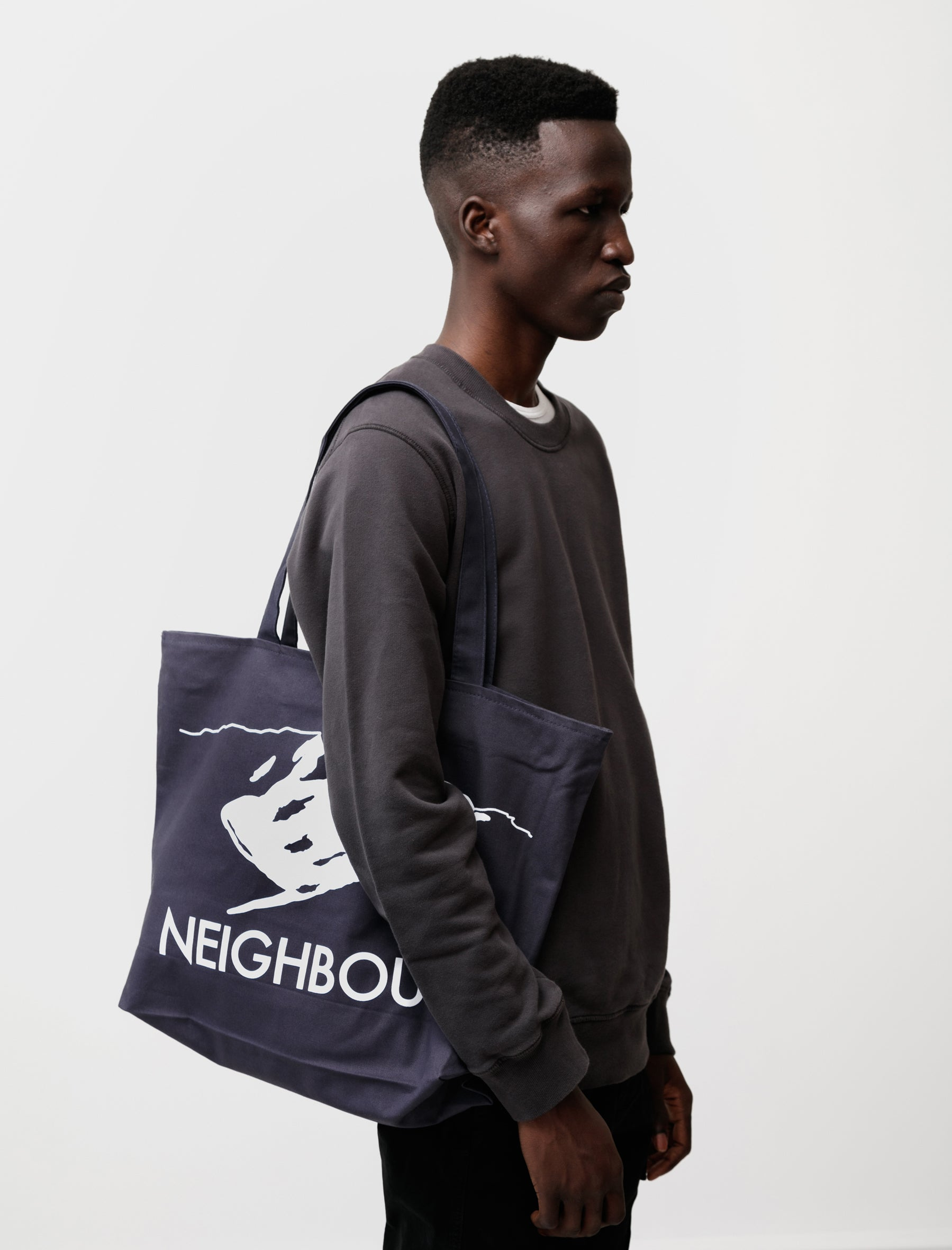 Neighbour Zipped Neighbour Mountain Totebag