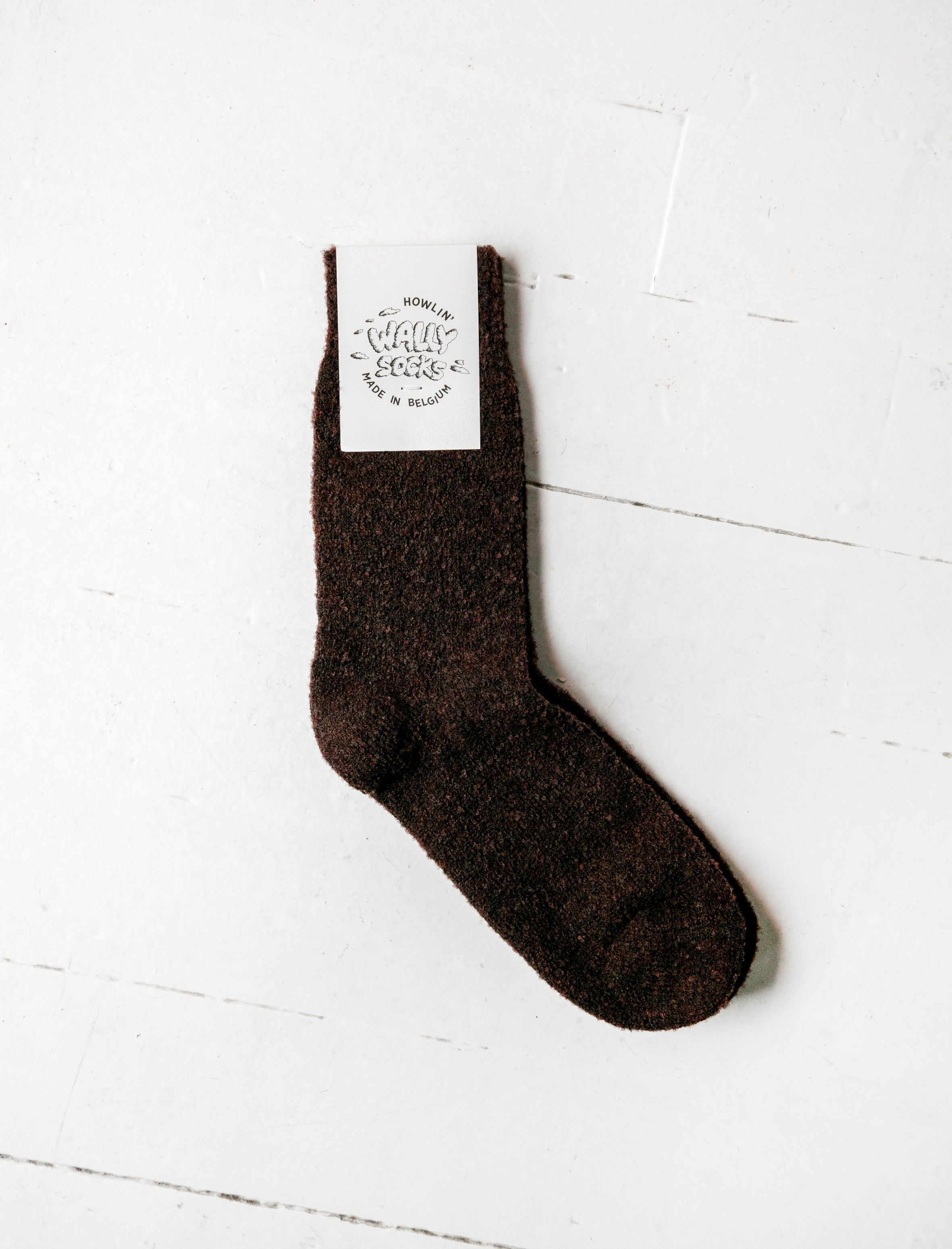 Wally Socks Brown