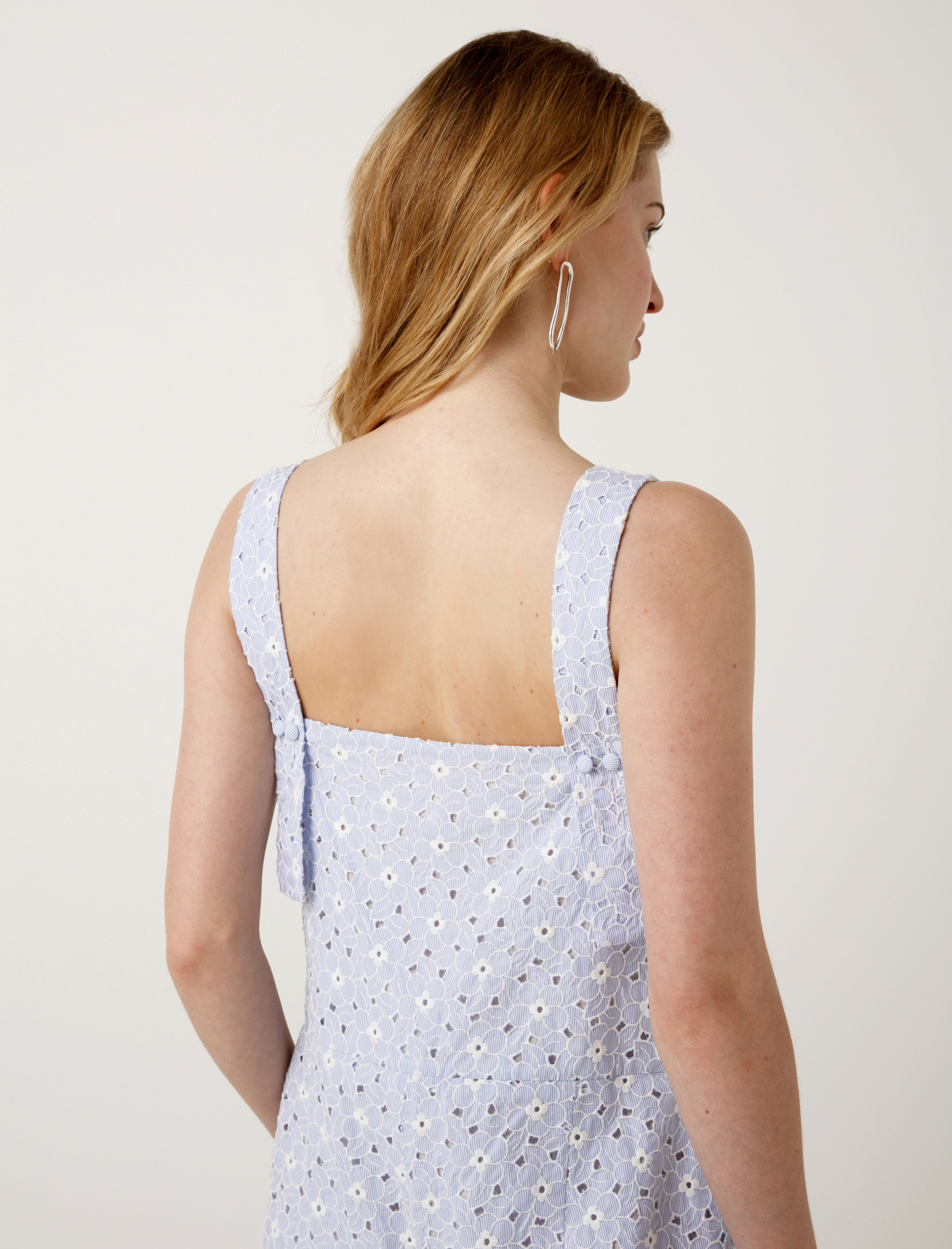 Shrimps Robert Eyelet Jumpsuit