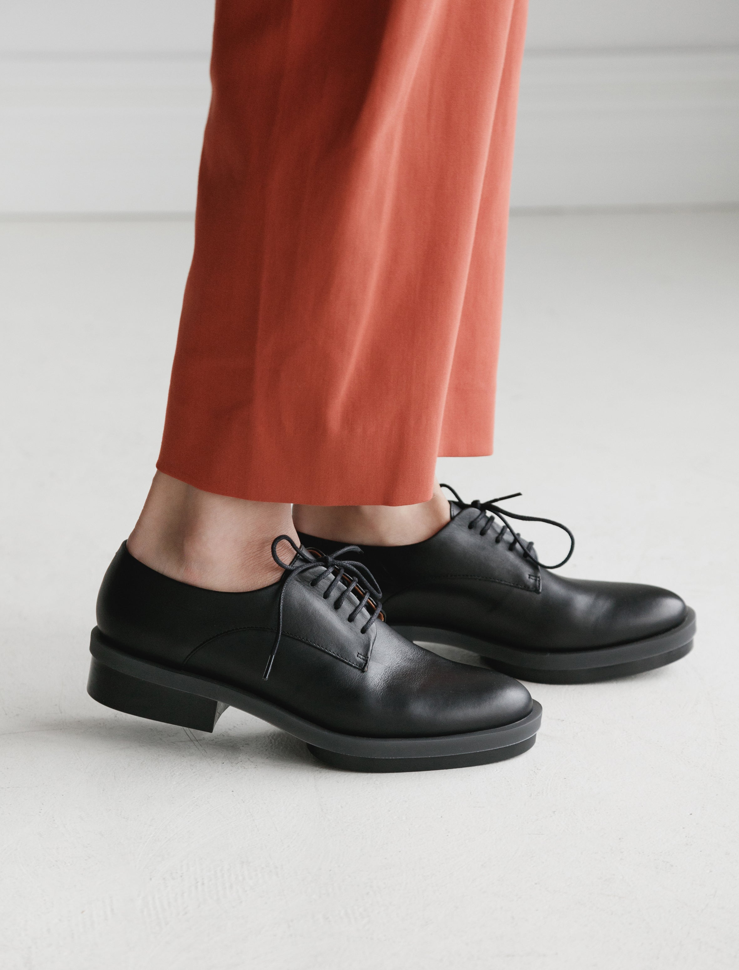 Clergerie Roma Rubber Sole Oxford