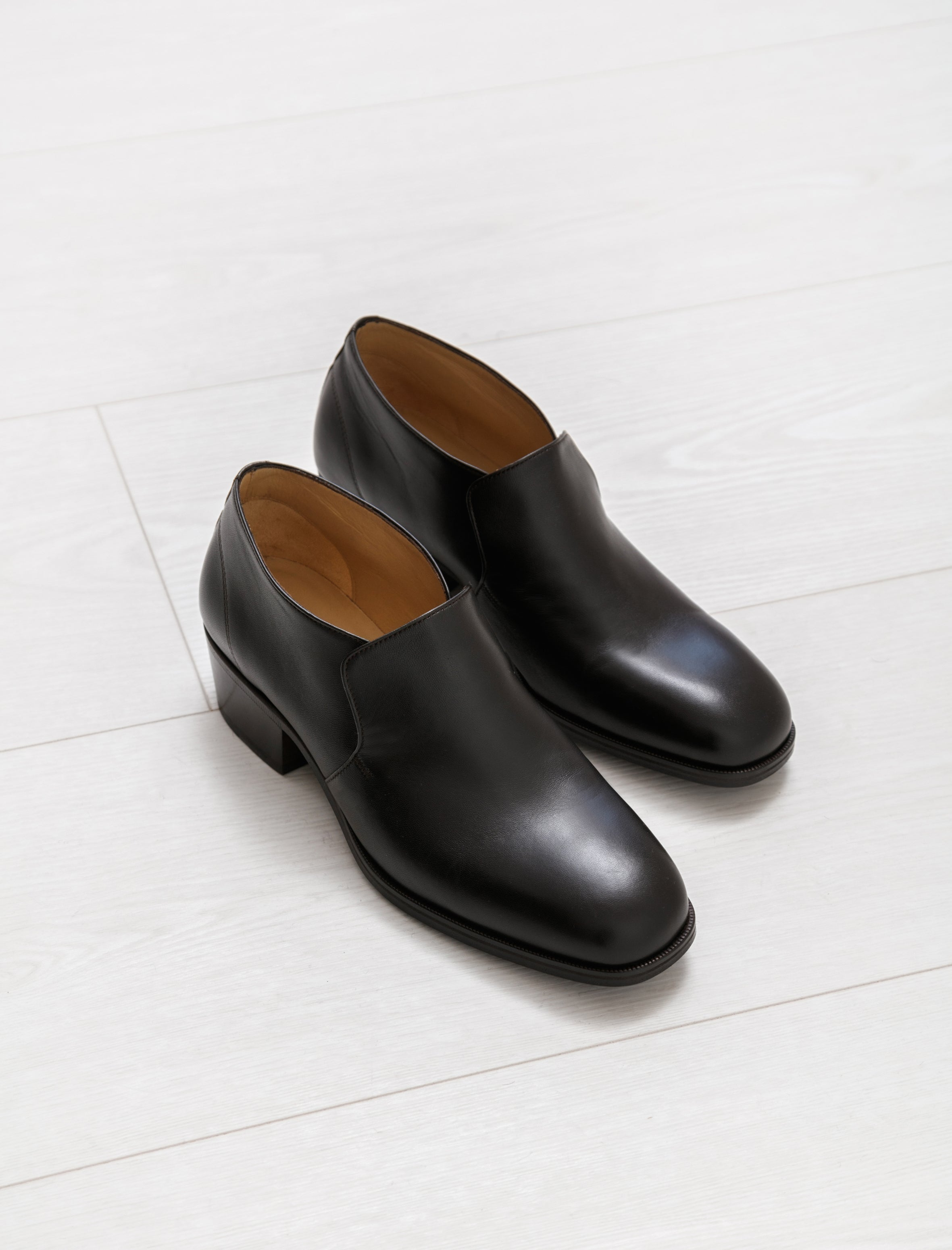 Lemaire Low Boots Midnight Brown