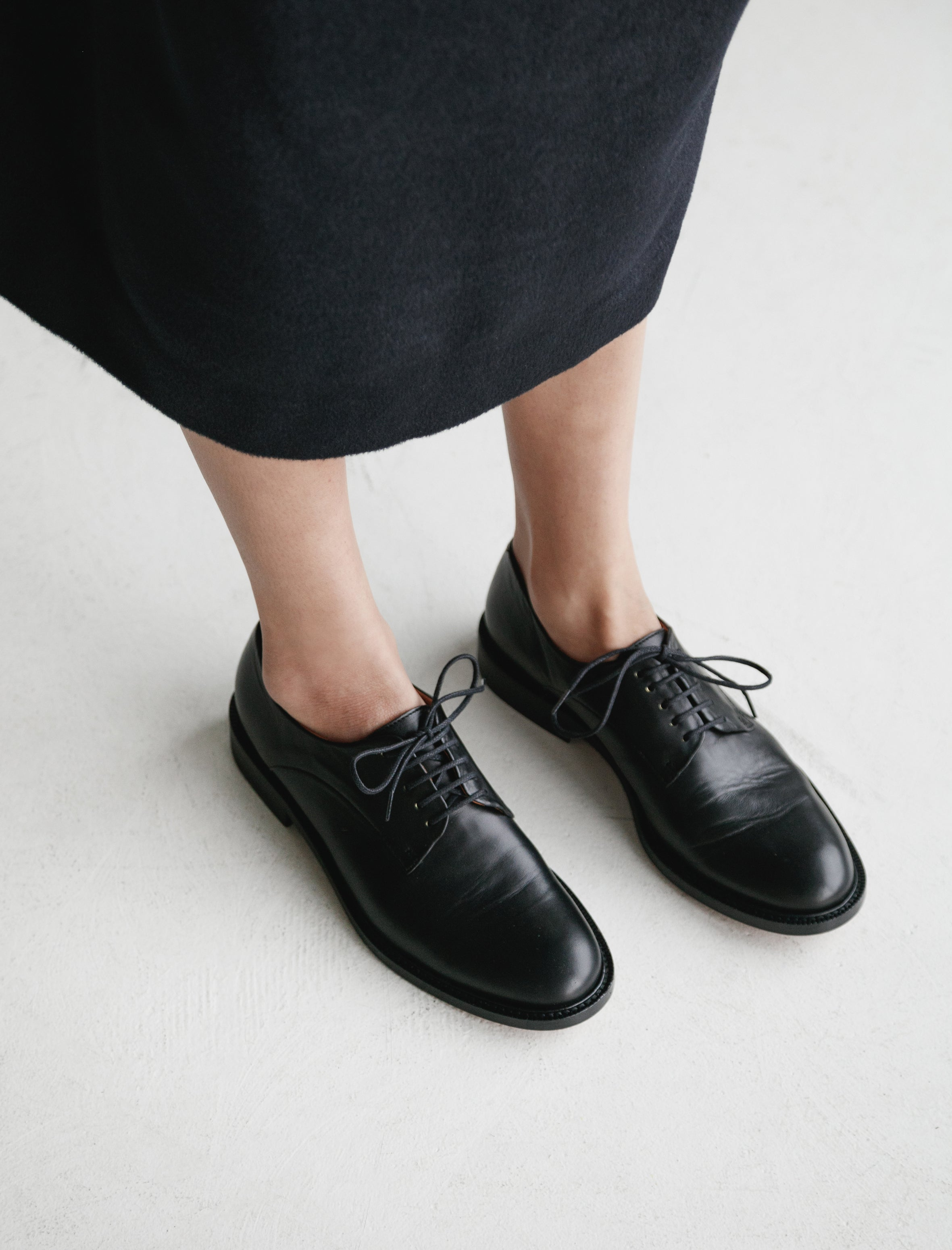 Clergerie Rosie Classic Oxford Black