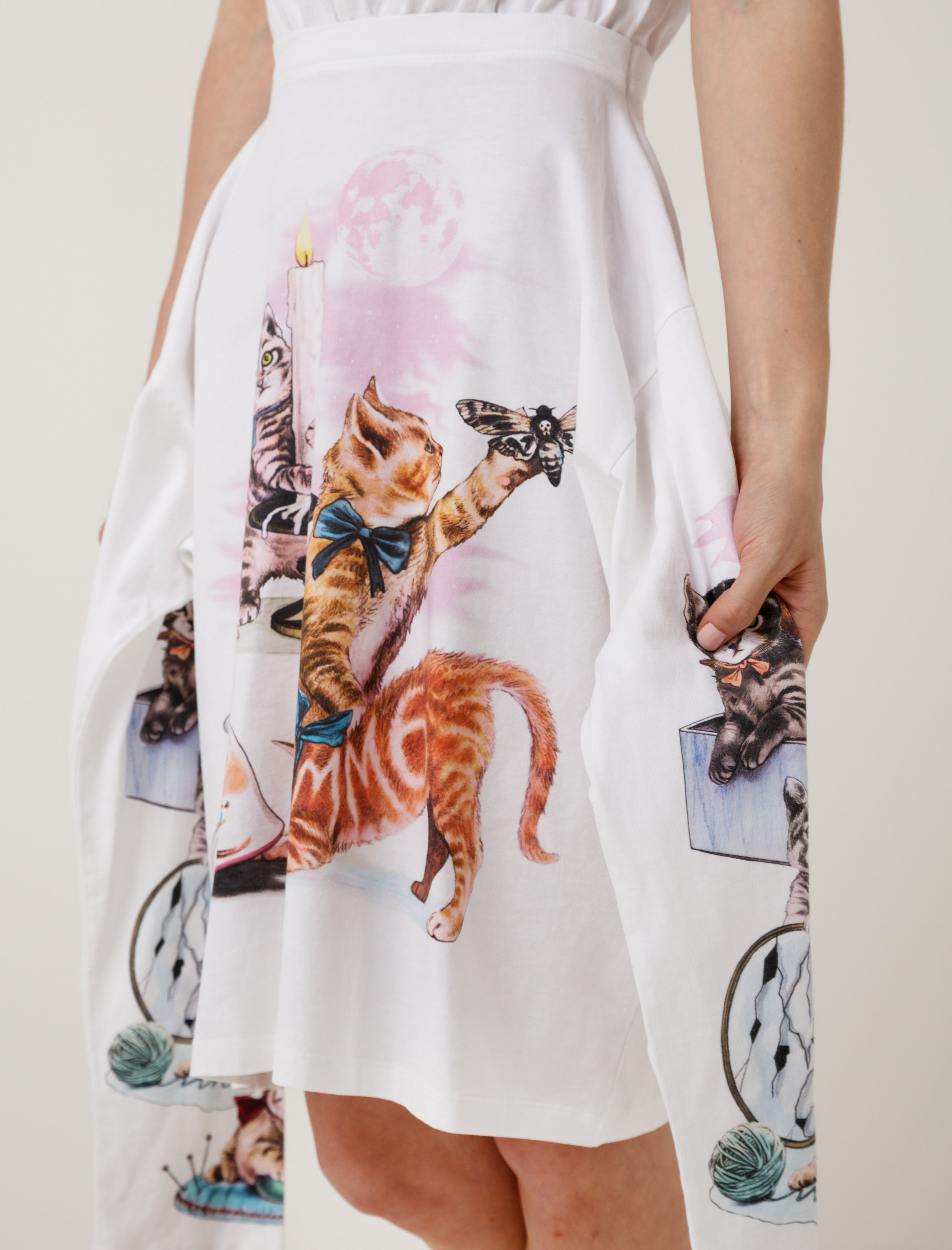 Mystical Kitten Dress