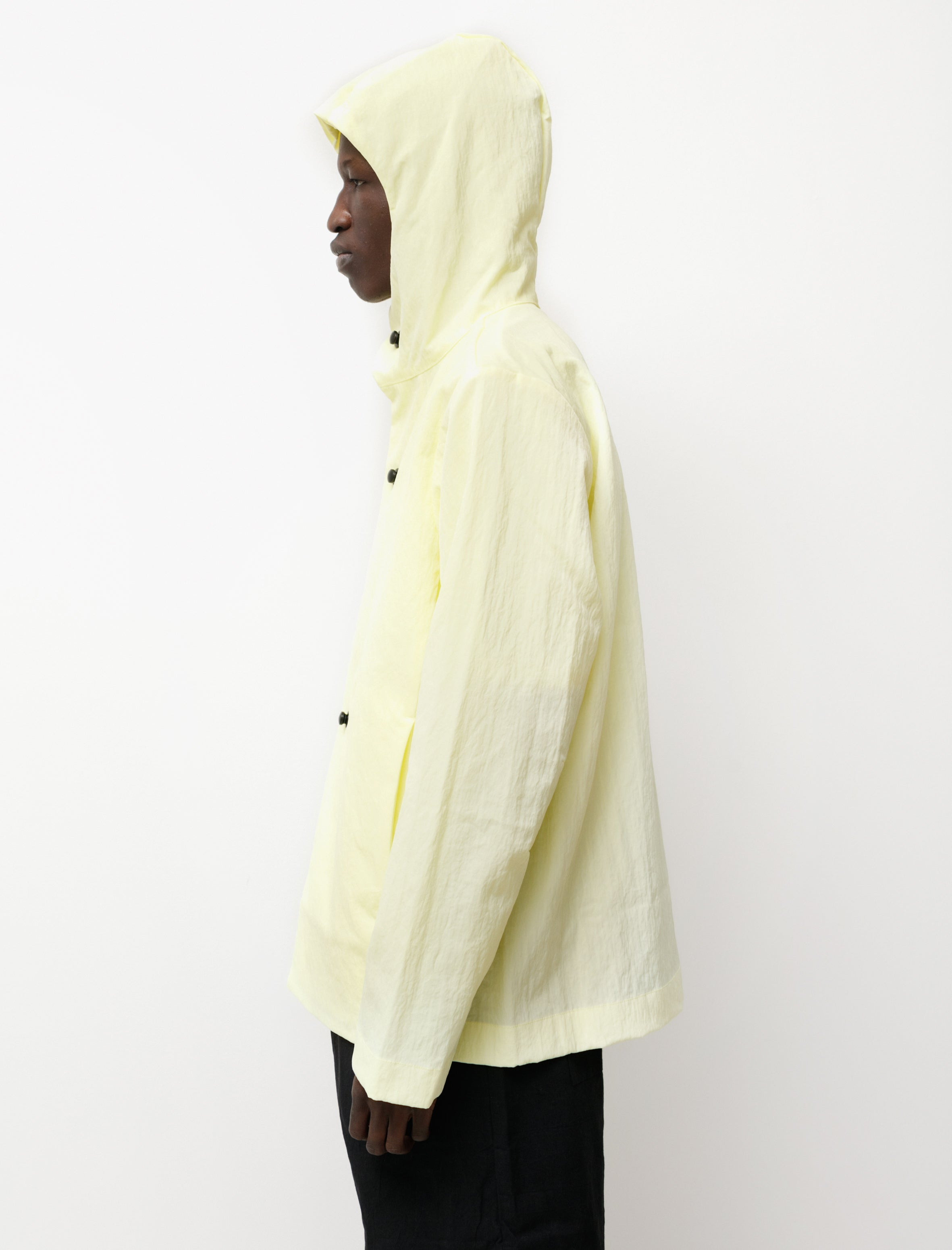 Navy White Stripe Logo Stitch Tee