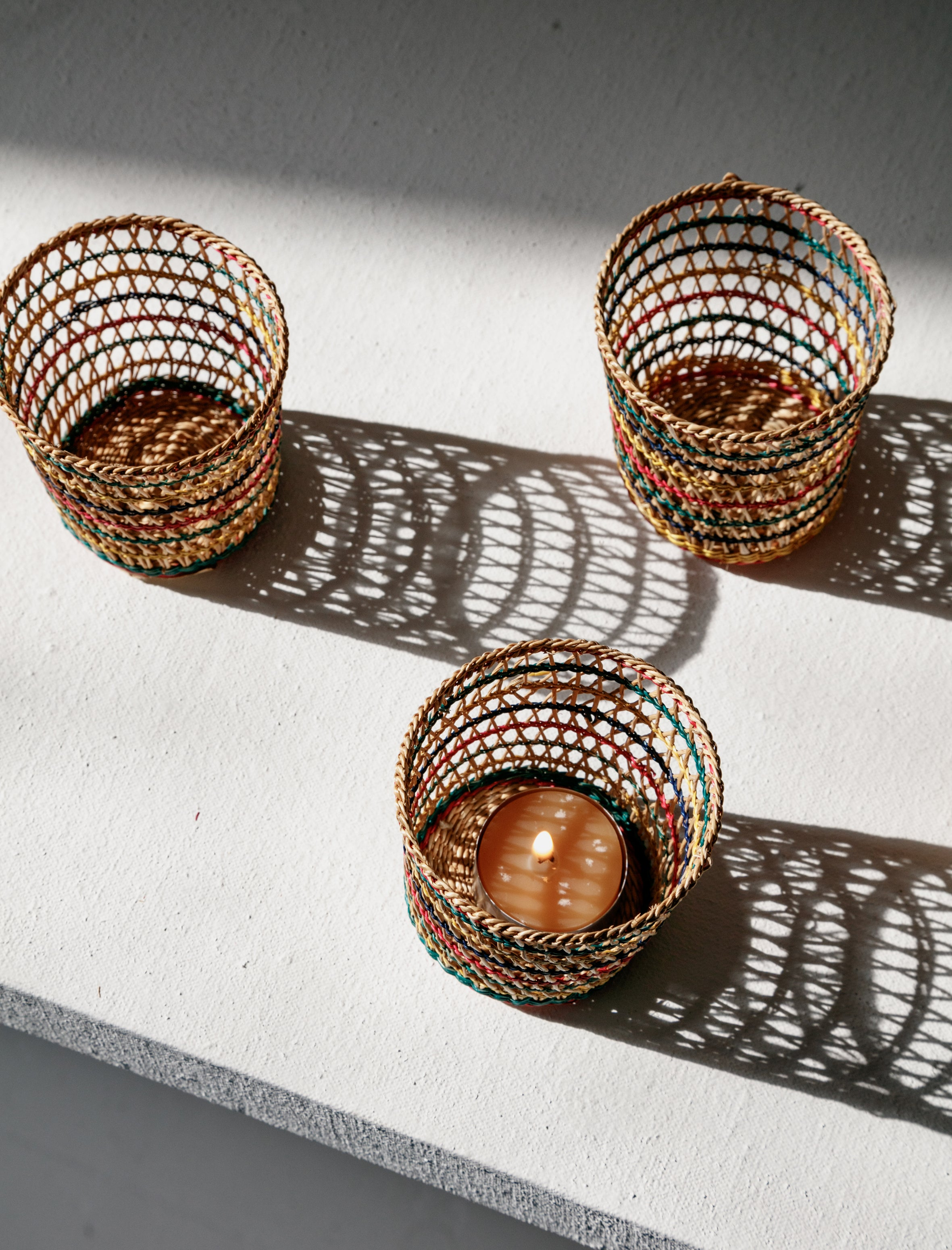 Found by Neighbour Woven Cups