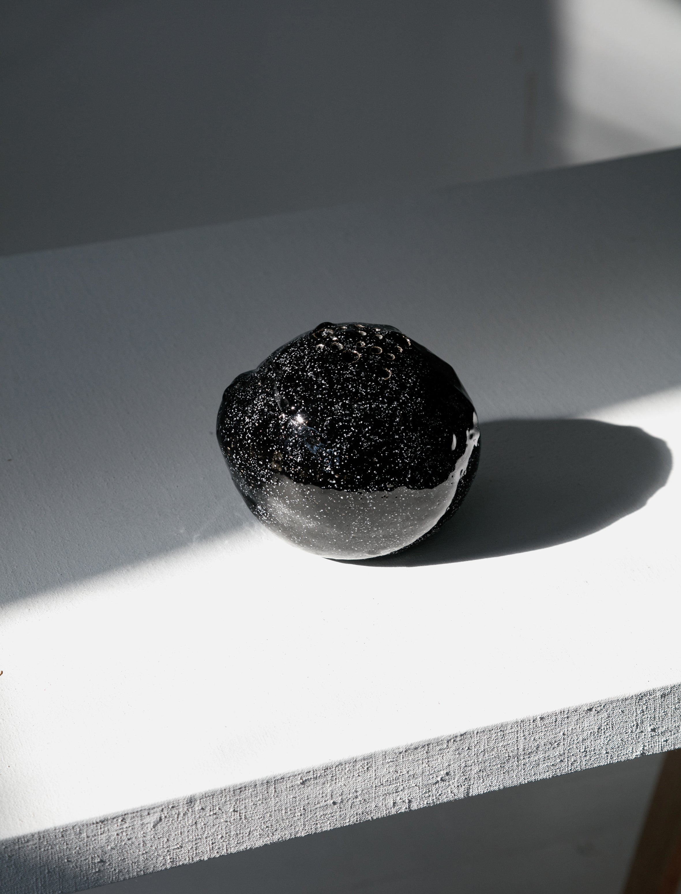 Nathalee Paolinelli Black Speckle Orb