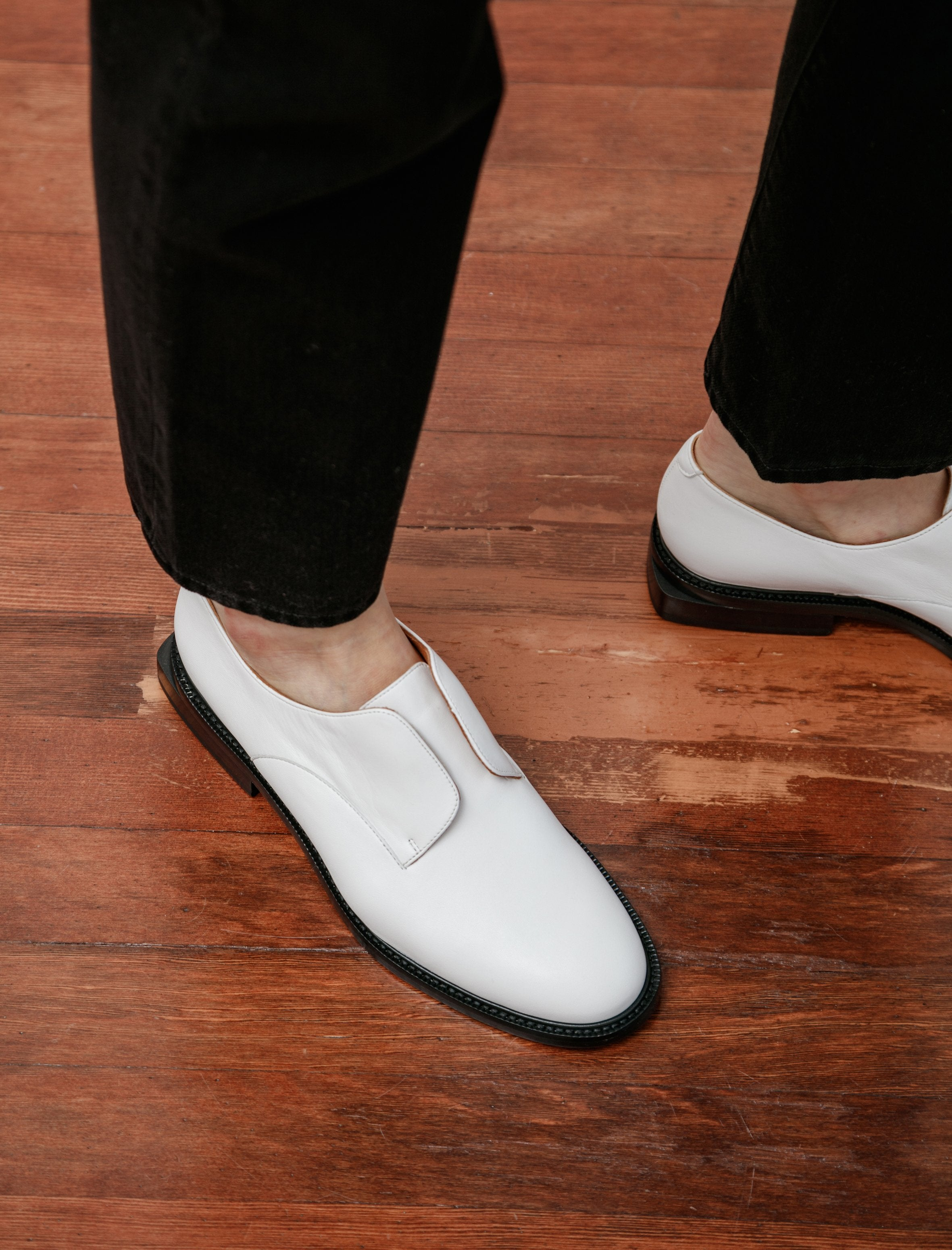 Clergerie Rayane Slip On Oxford White