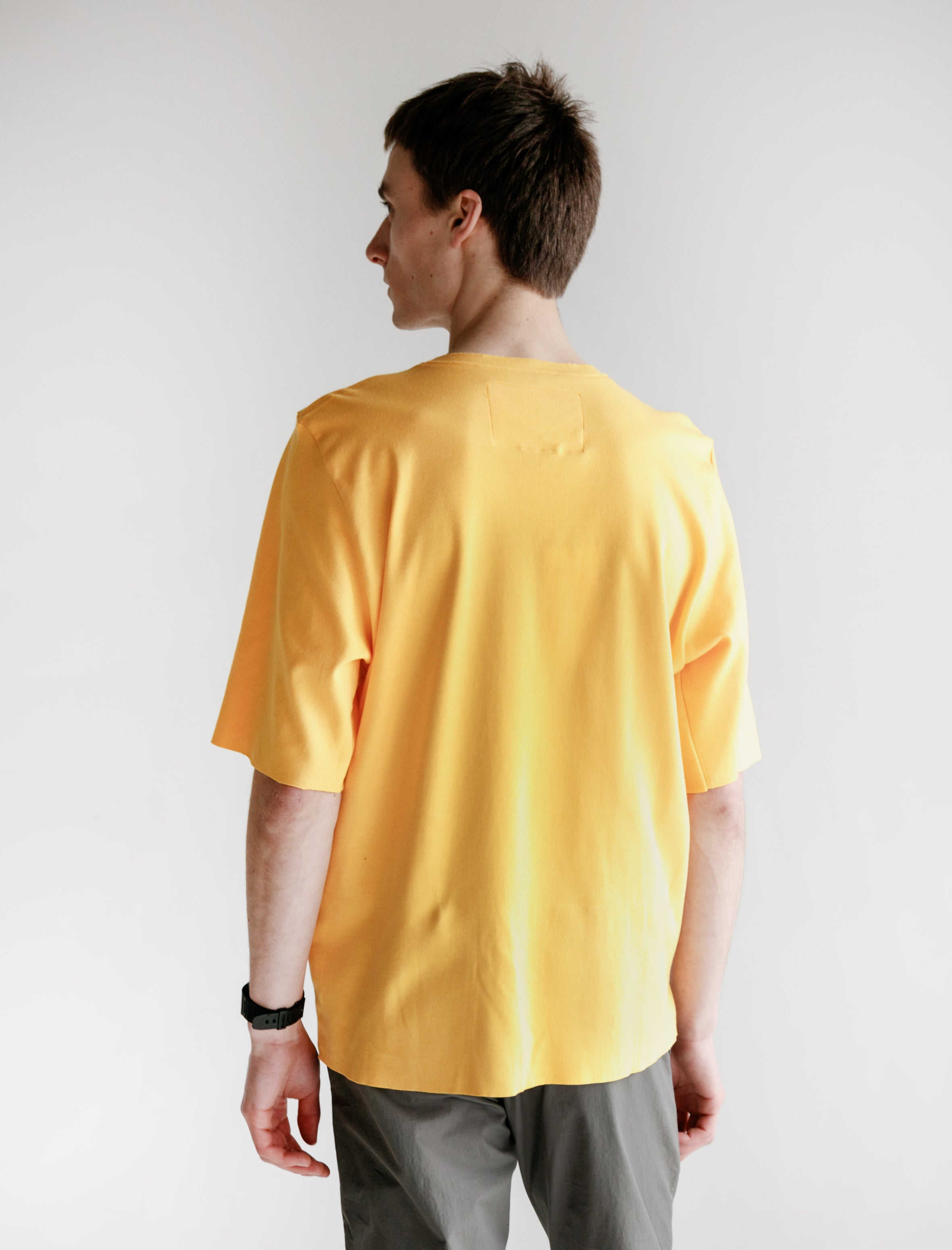 Camiel Fortgens Tailored Tee Cotton Jersey Yellow