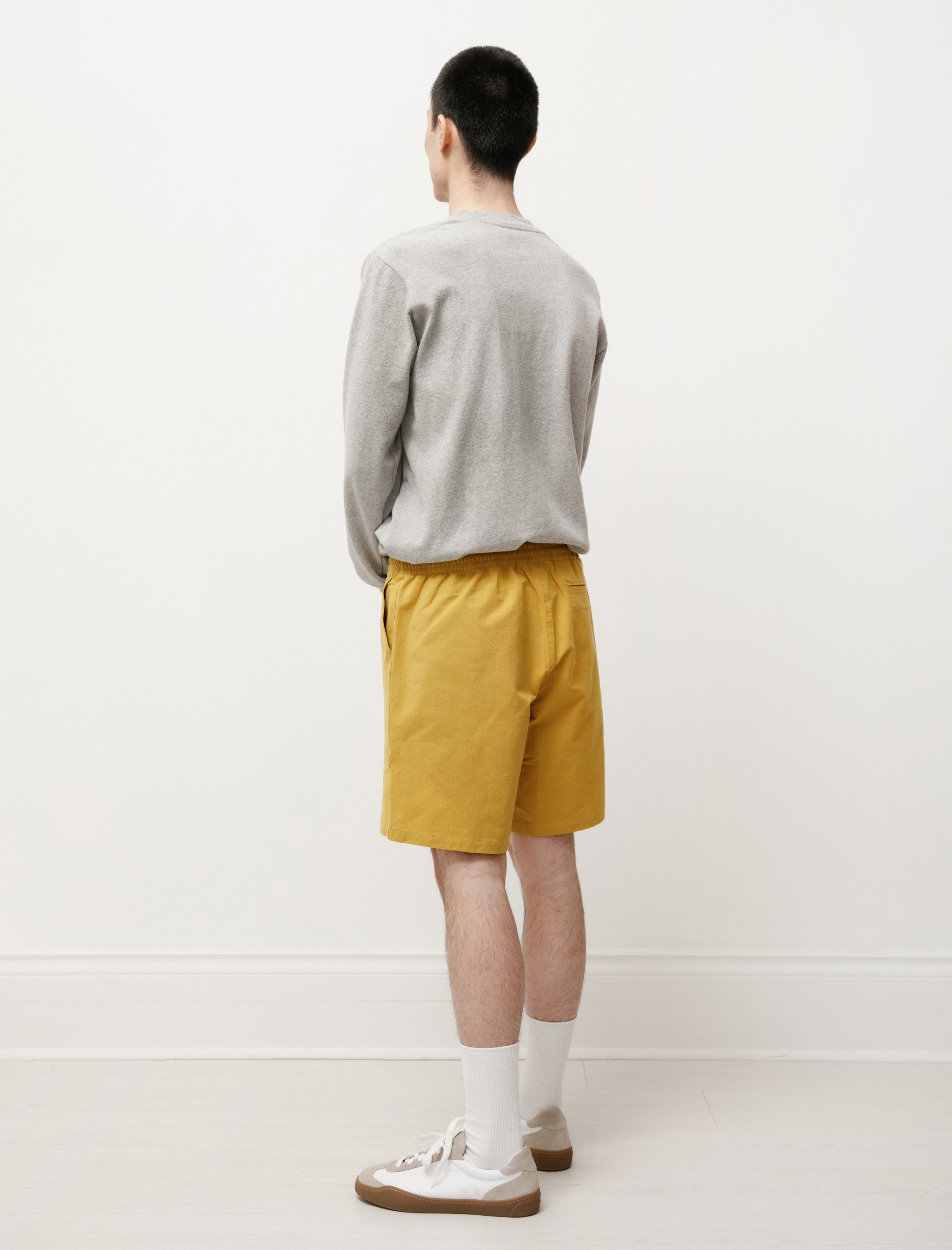Paa Shorts Washi Cotton Mustard