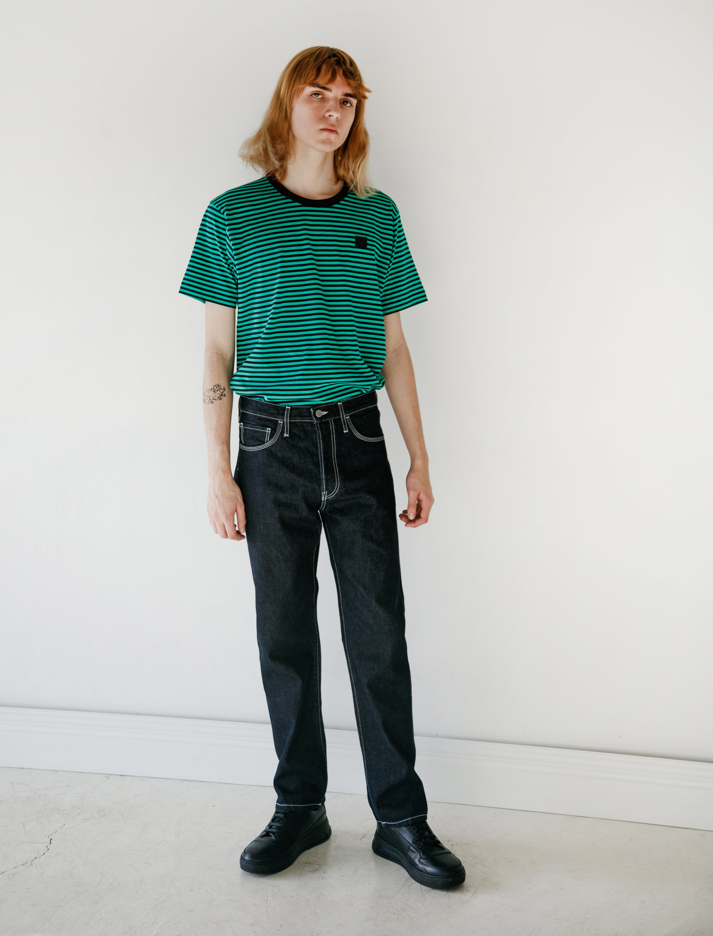 Acne Studios Face Denim Indigo Blue