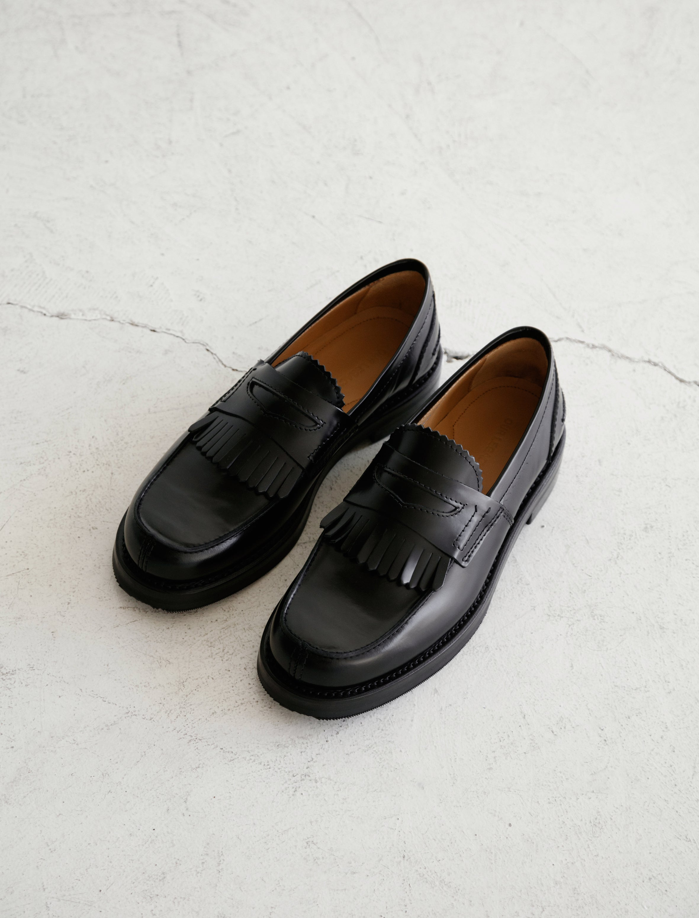 Our Legacy Loafer Leather Black