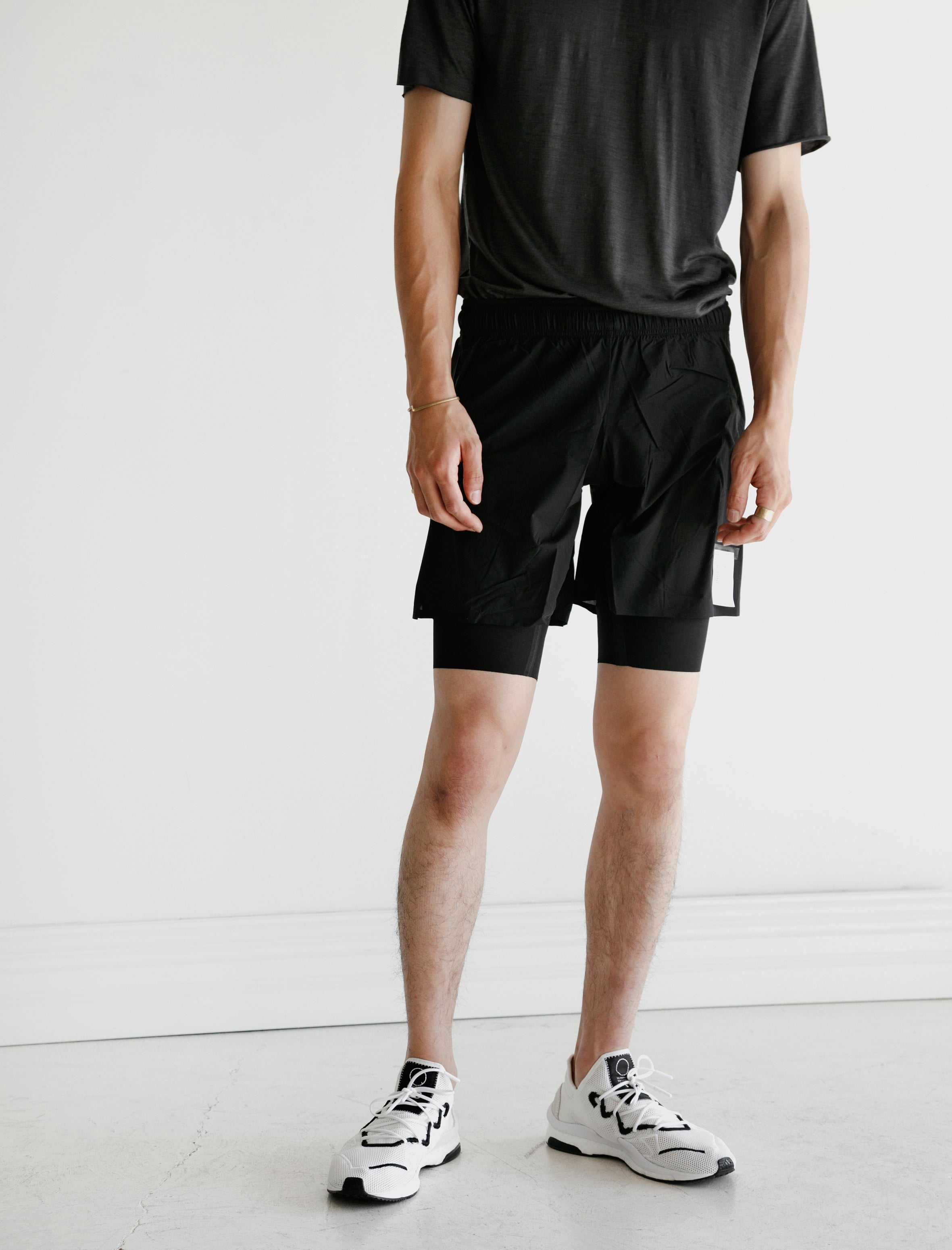 Satisfy Justice Trail 10 Shorts Black