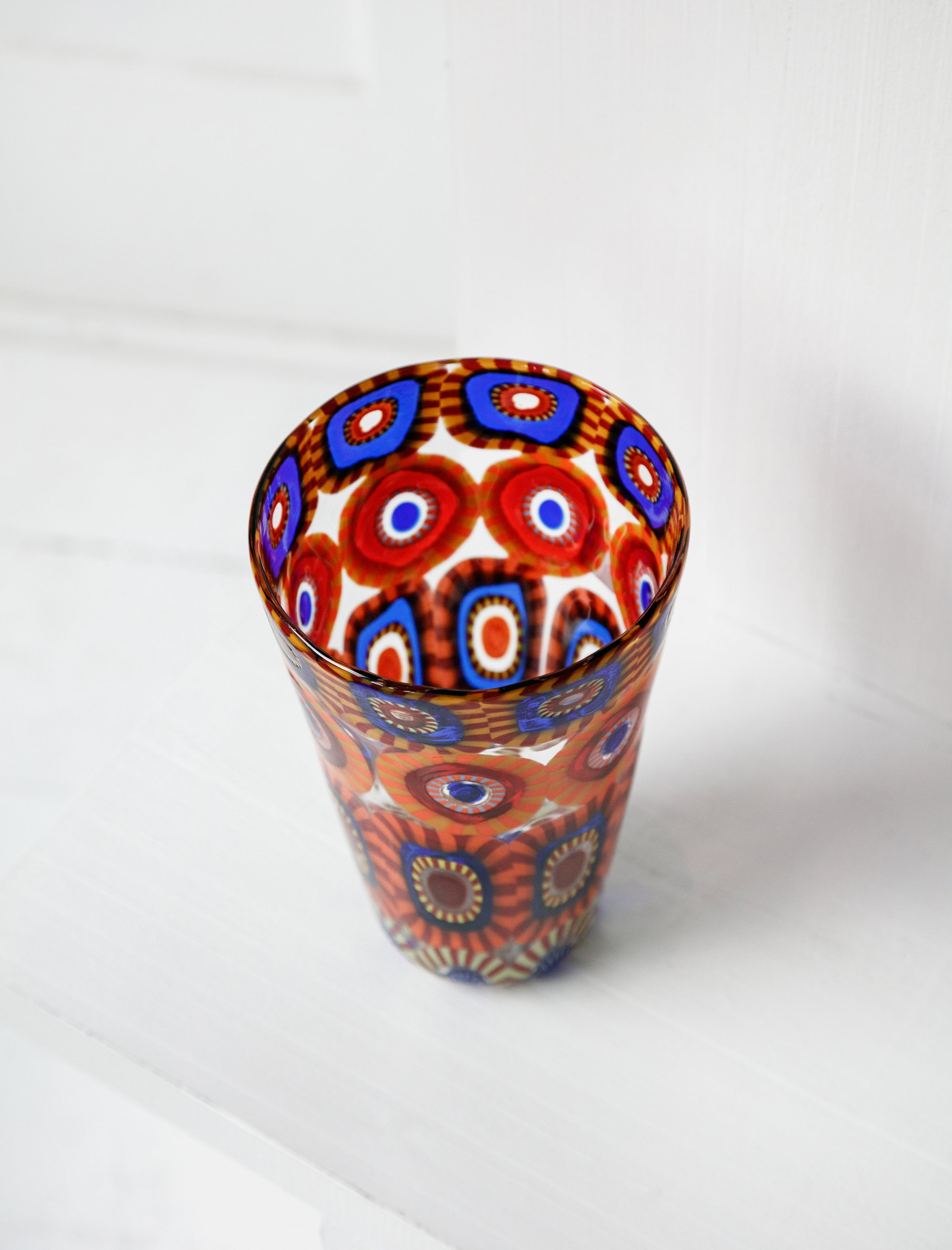 Found by Neighbour Murrine Eye Tall Vase Multi