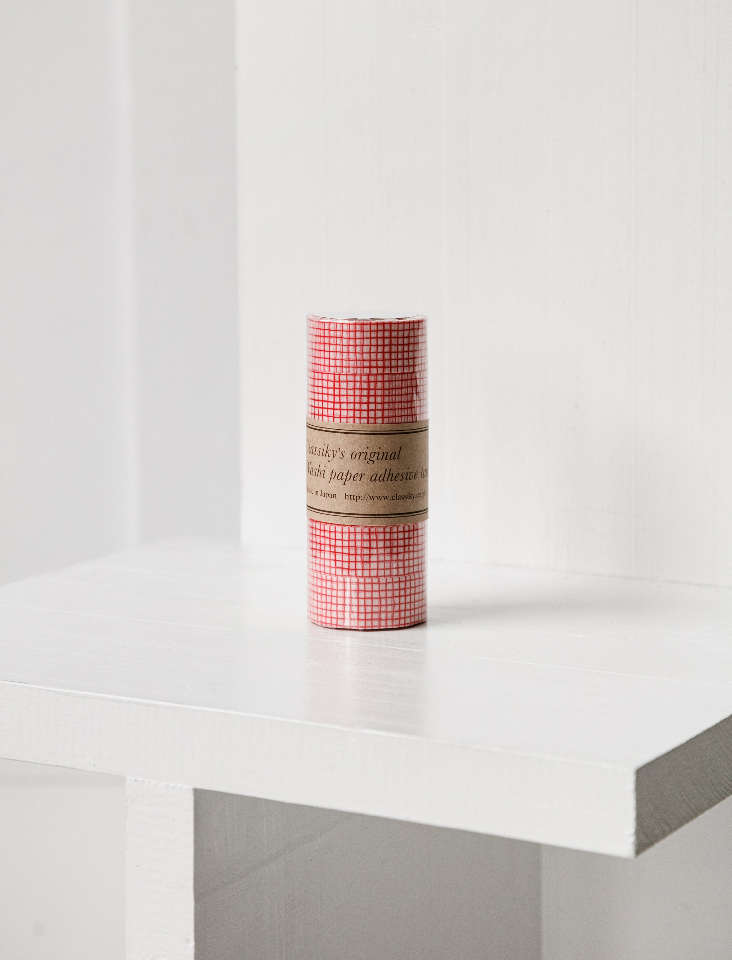 Washi Tape Red Check