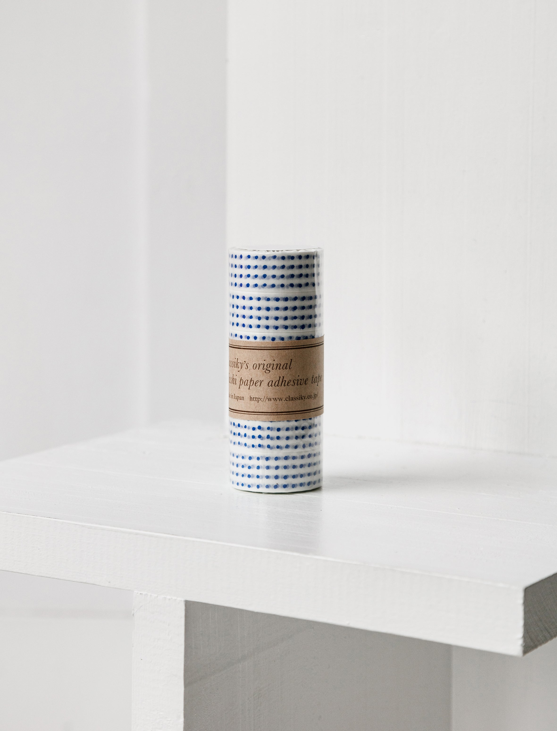 Washi Tape Blue Dots