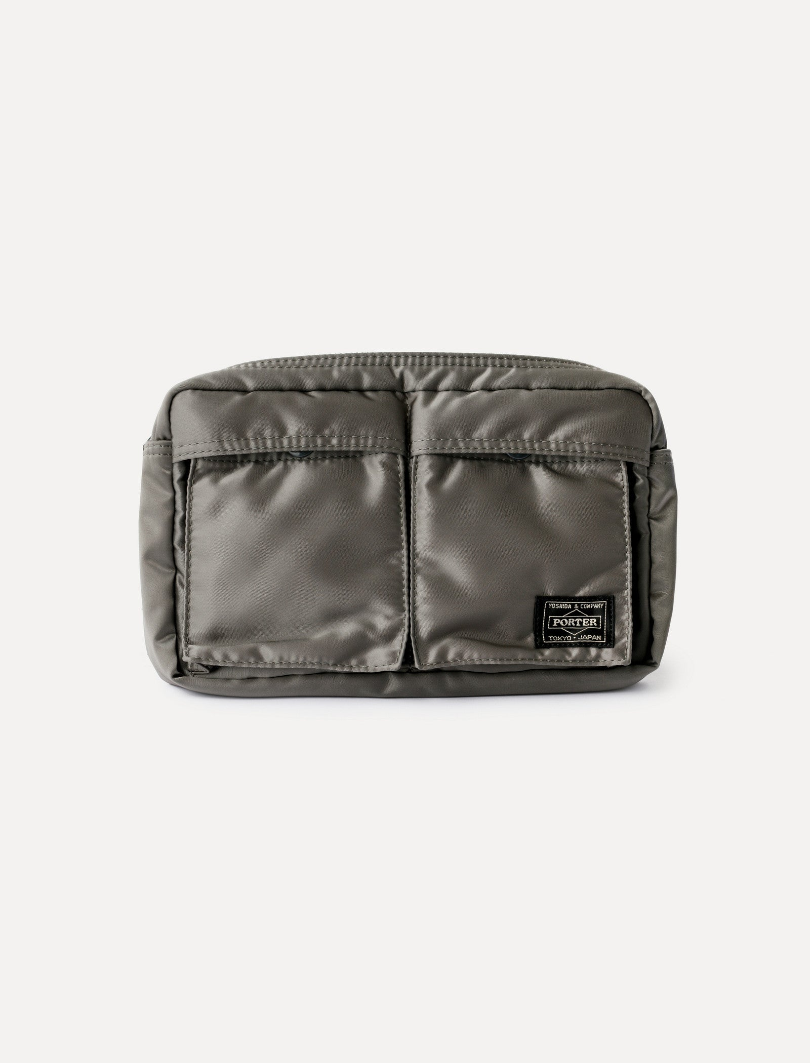 Tanker Waist Bag Silver Grey
